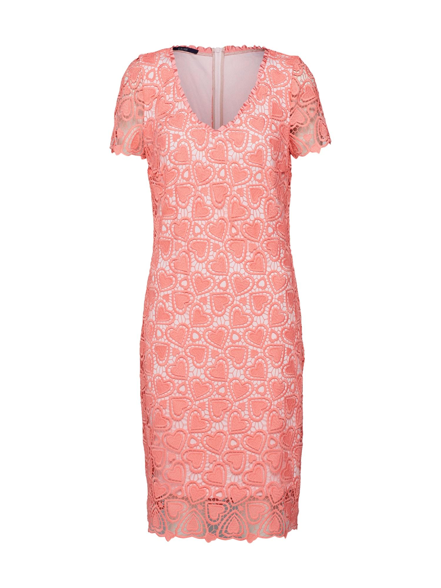 Šaty 11030 růžová LAUREL