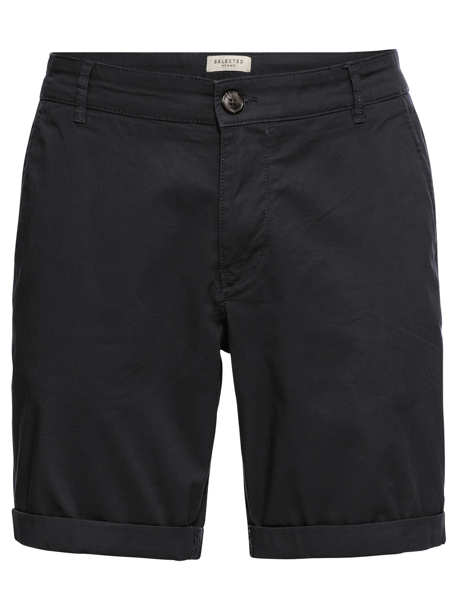 SELECTED HOMME Kelnės juoda