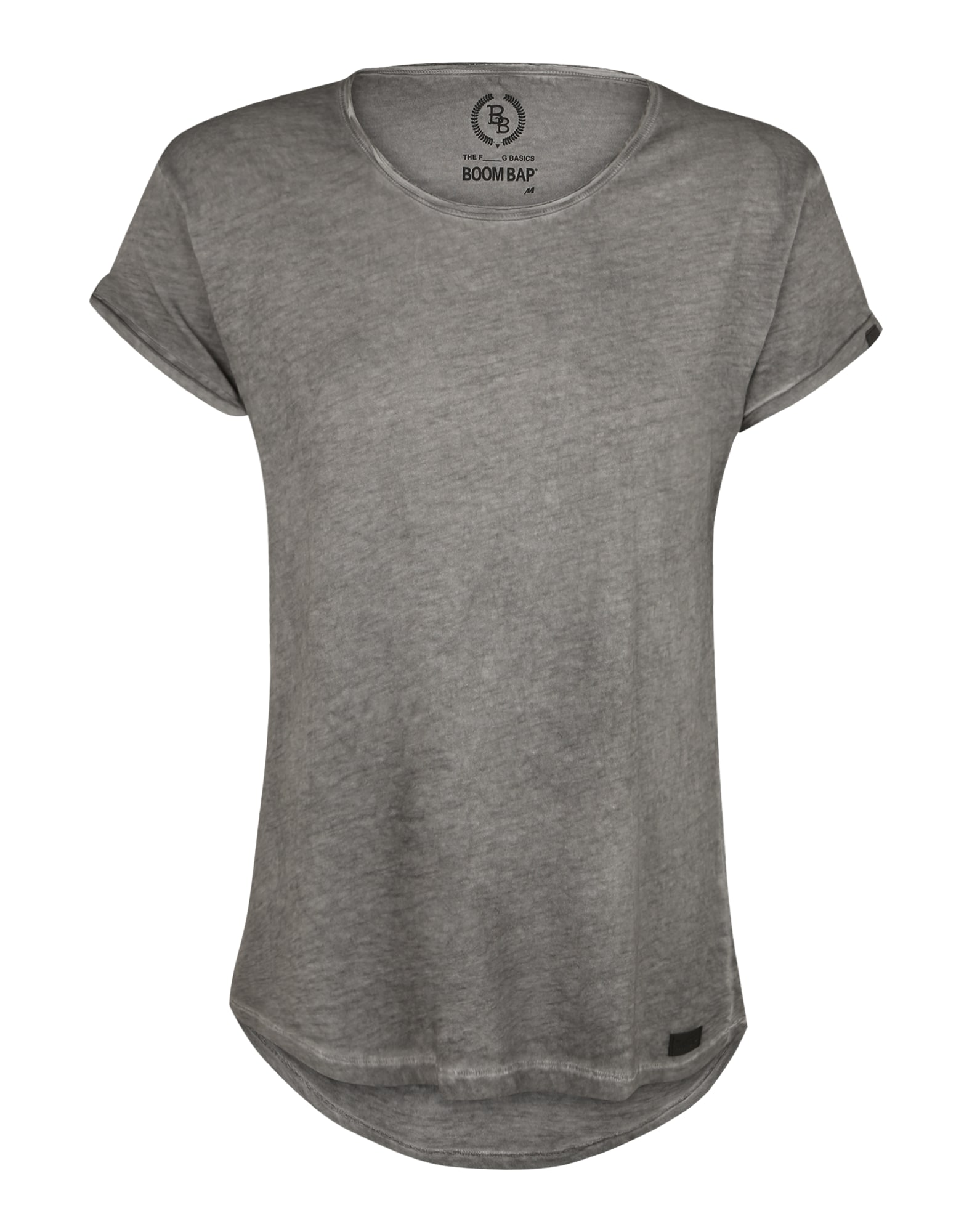 Tričko šedá BOOM BAP