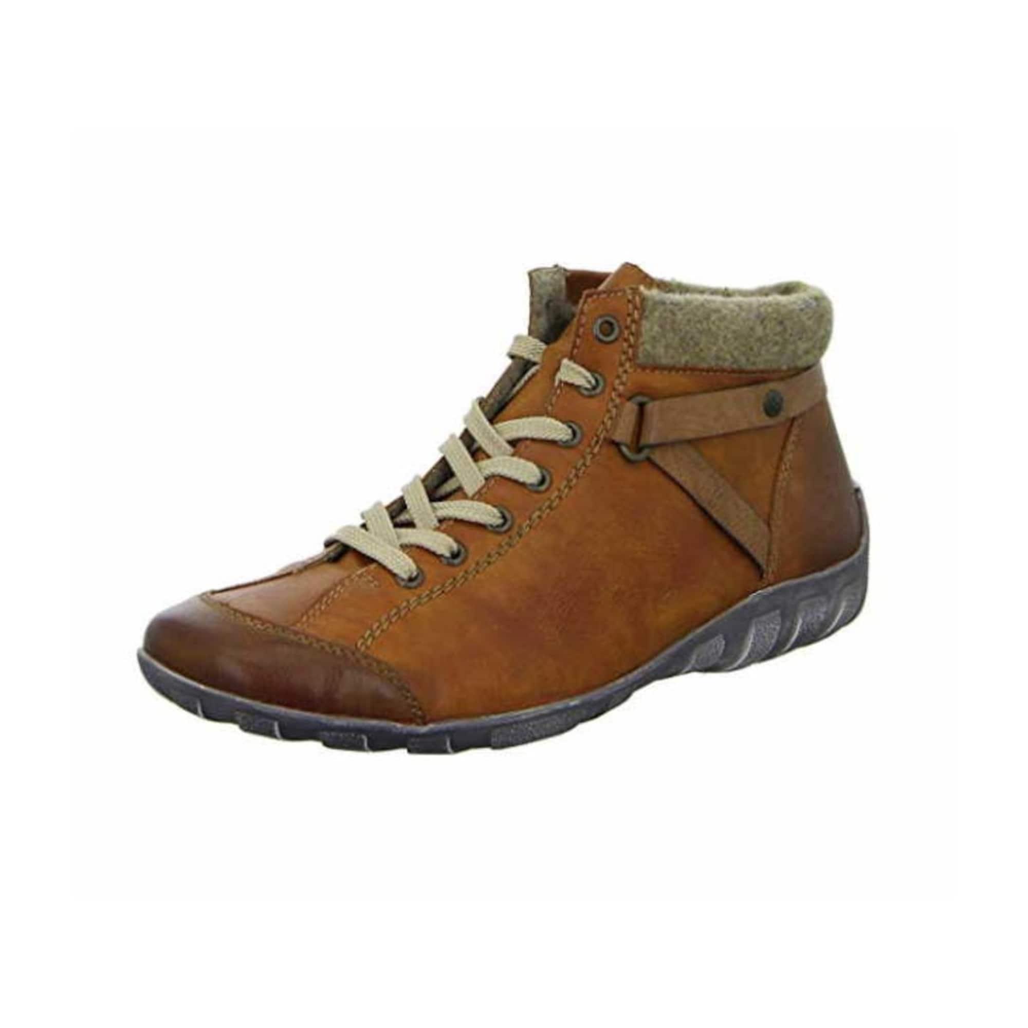 RIEKER Auliniai batai vario spalva