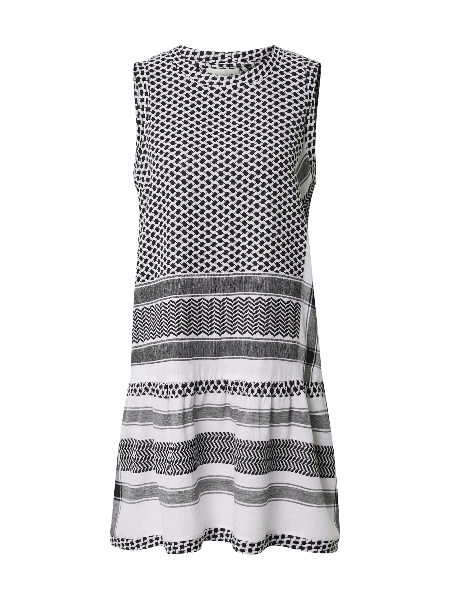 Cecilie Copenhagen Suknelė balta / juoda