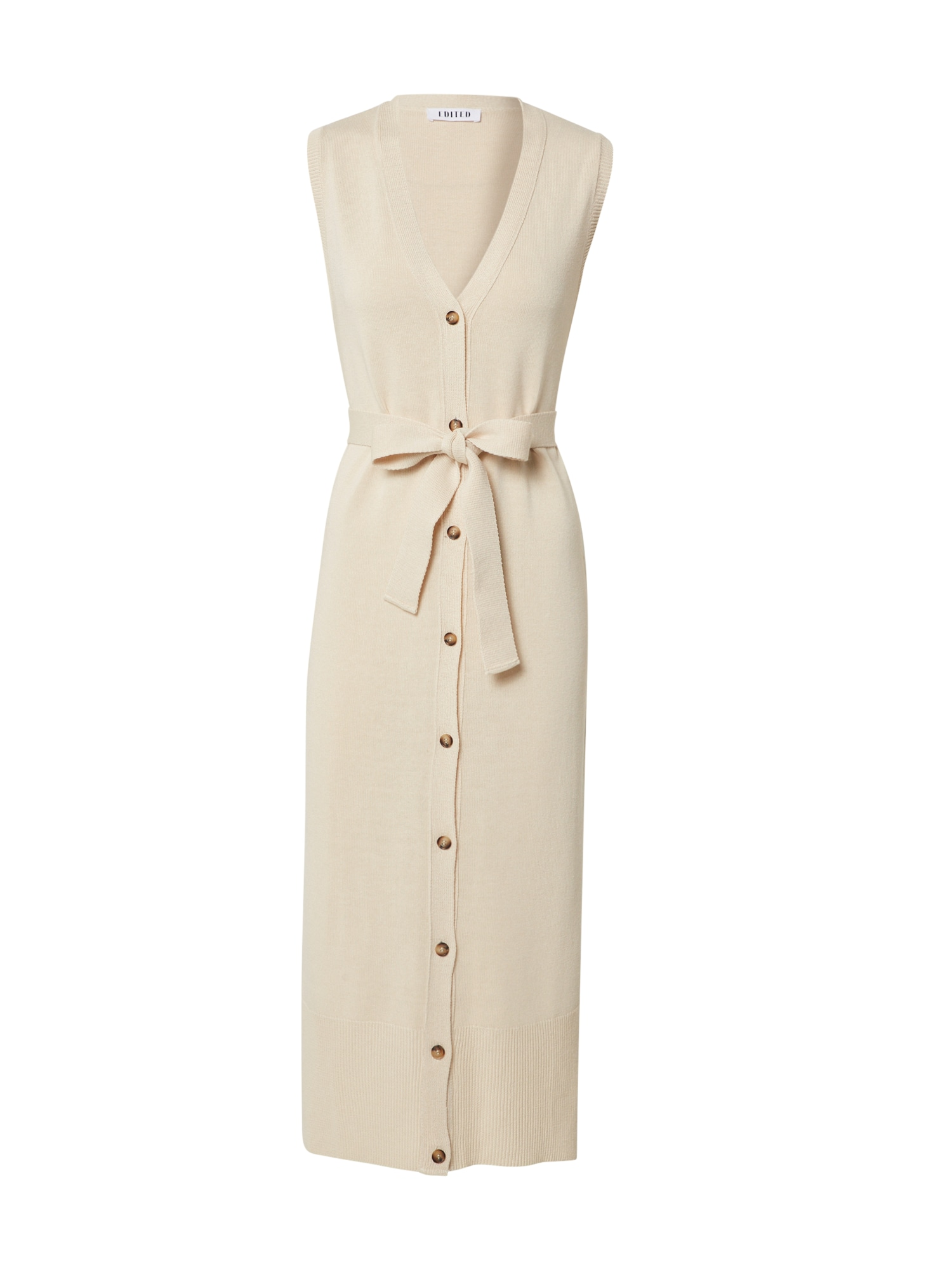 EDITED Megzta suknelė 'Maral' smėlio / balta