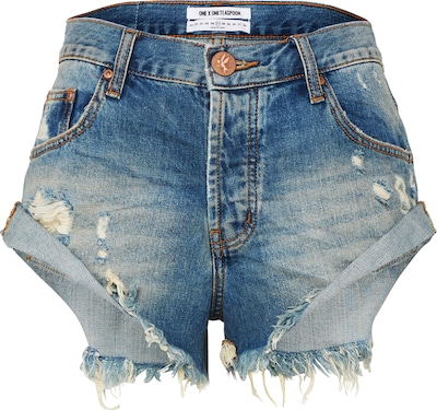 One Teaspoon Jeansshort 'Bandits'