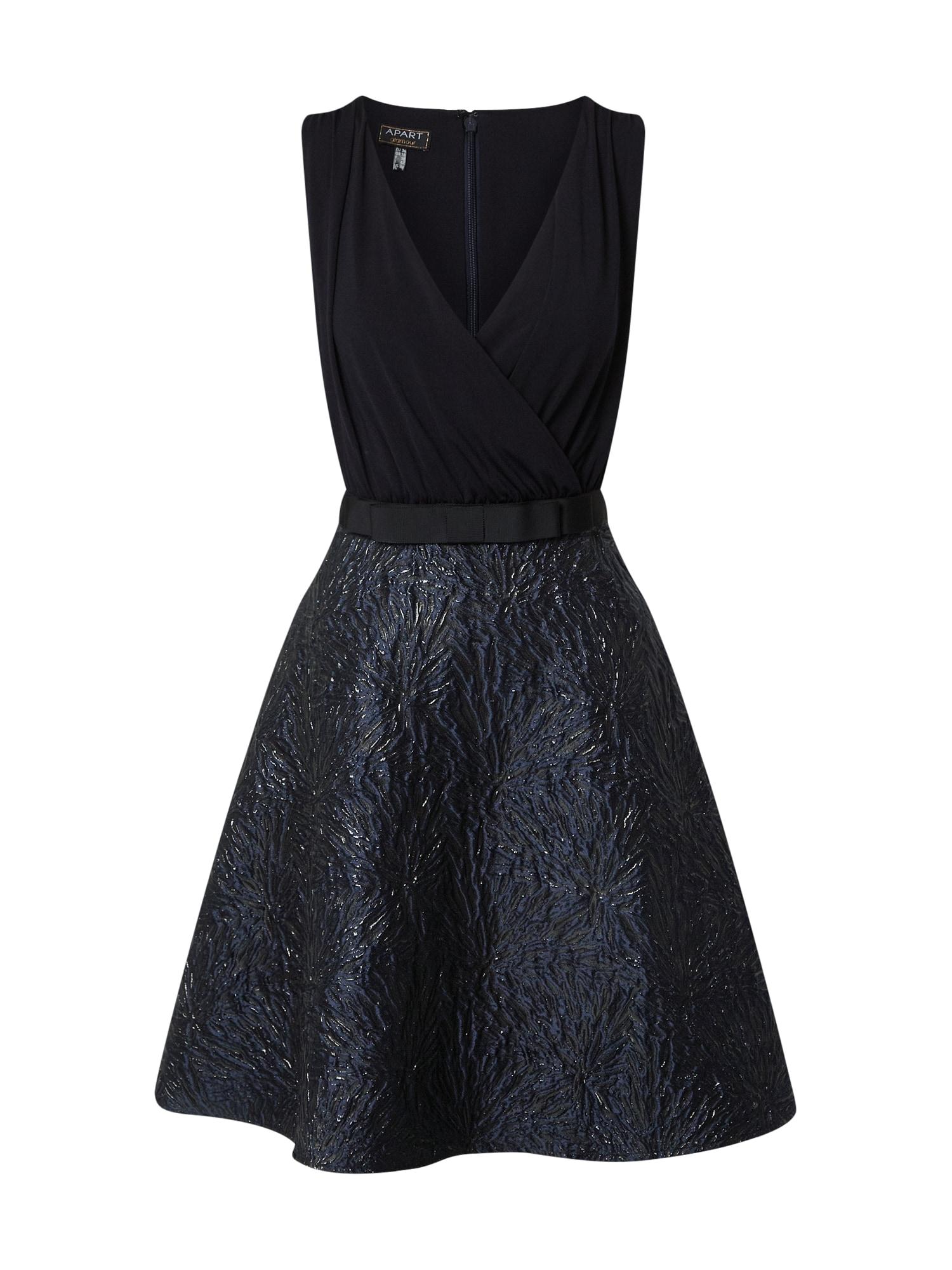 APART Kokteilinė suknelė tamsiai mėlyna