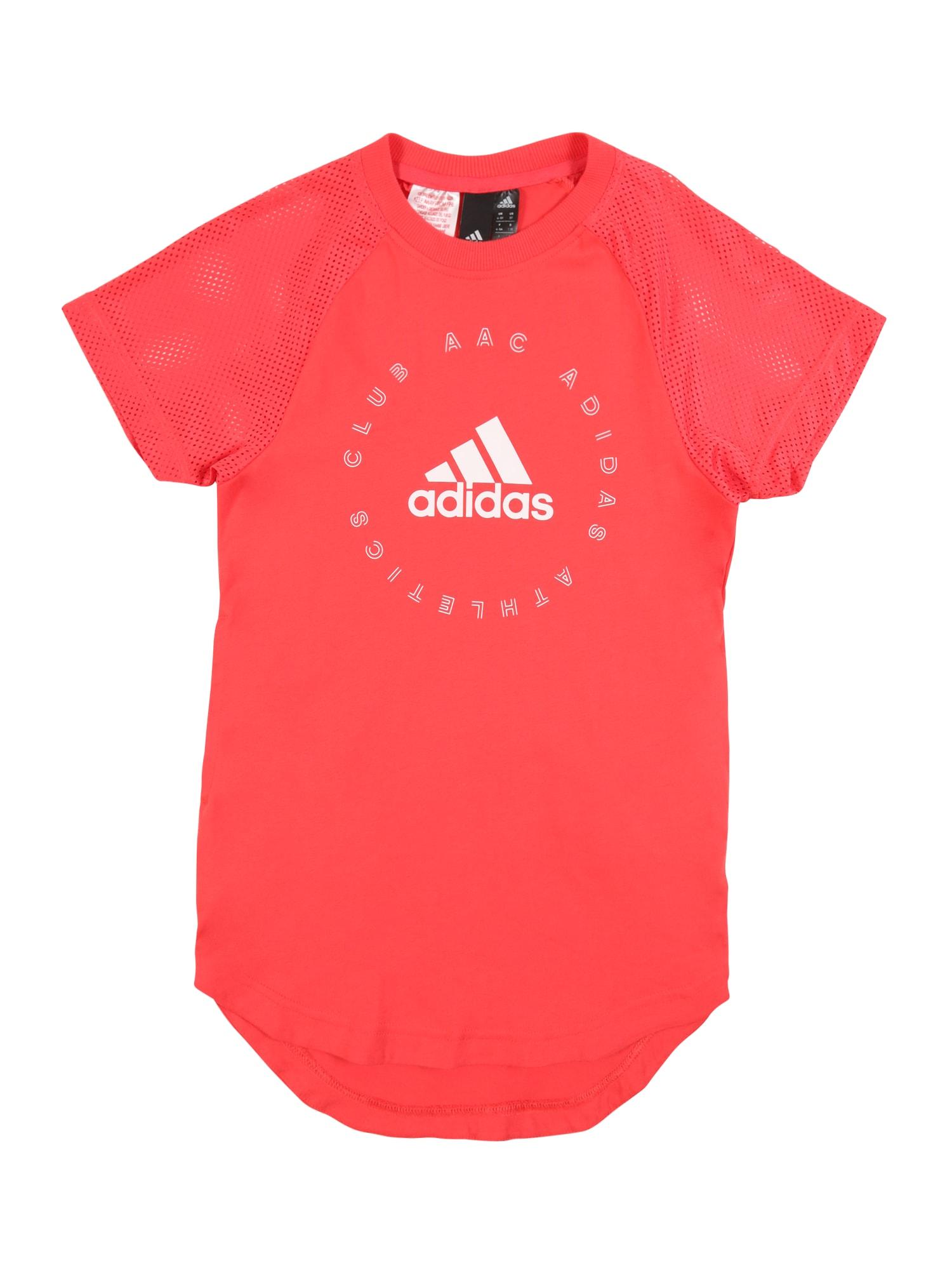 ADIDAS PERFORMANCE Sportinė suknelė oranžinė / raudona