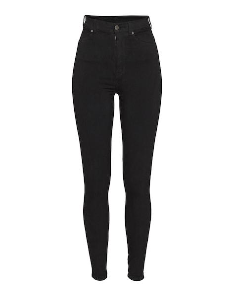 Hosen für Frauen - 'Moxy' Skinny High Waist Jeans › Dr. Denim › schwarz  - Onlineshop ABOUT YOU