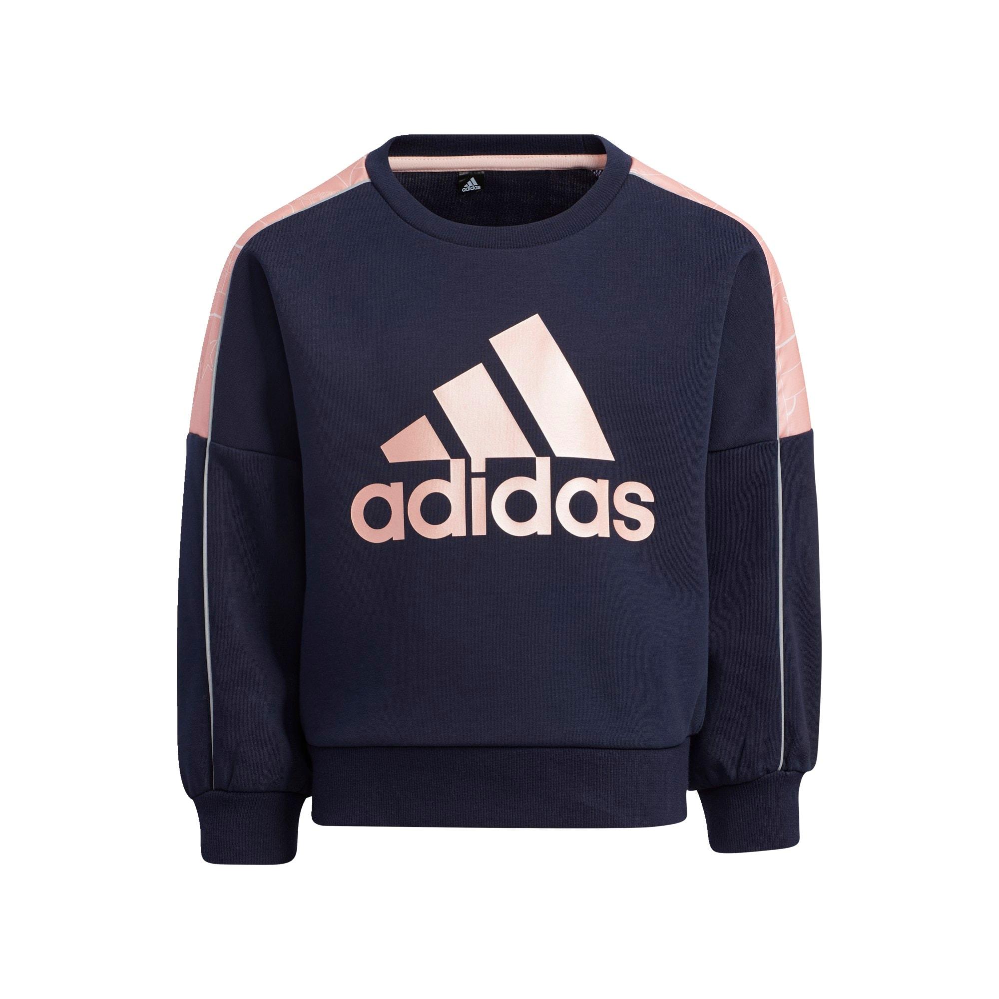 ADIDAS PERFORMANCE Sportinio tipo megztinis šviesiai rožinė / tamsiai mėlyna