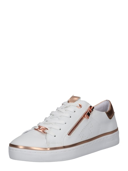 Sneakers für Frauen - TOM TAILOR Sneaker rosé weiß  - Onlineshop ABOUT YOU