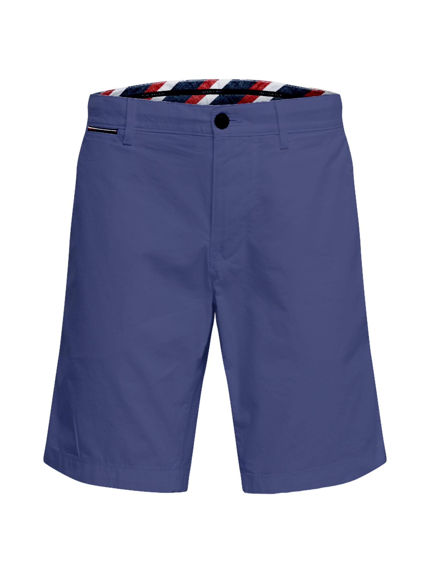 "TOMMY HILFIGER ""Chino"" stiliaus kelnės 'Brooklyn' tamsiai mėlyna"