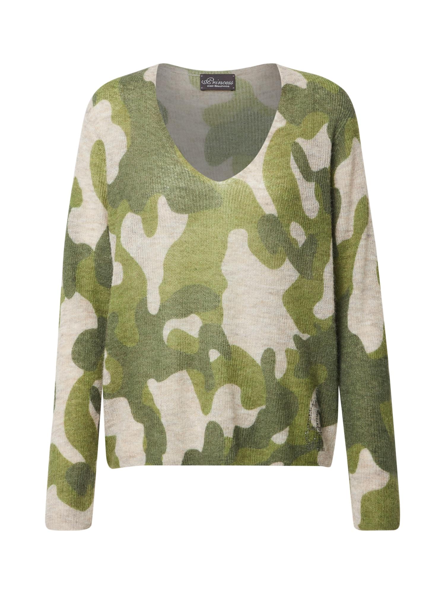 PRINCESS GOES HOLLYWOOD Megztinis žalia / smėlio / tamsiai žalia