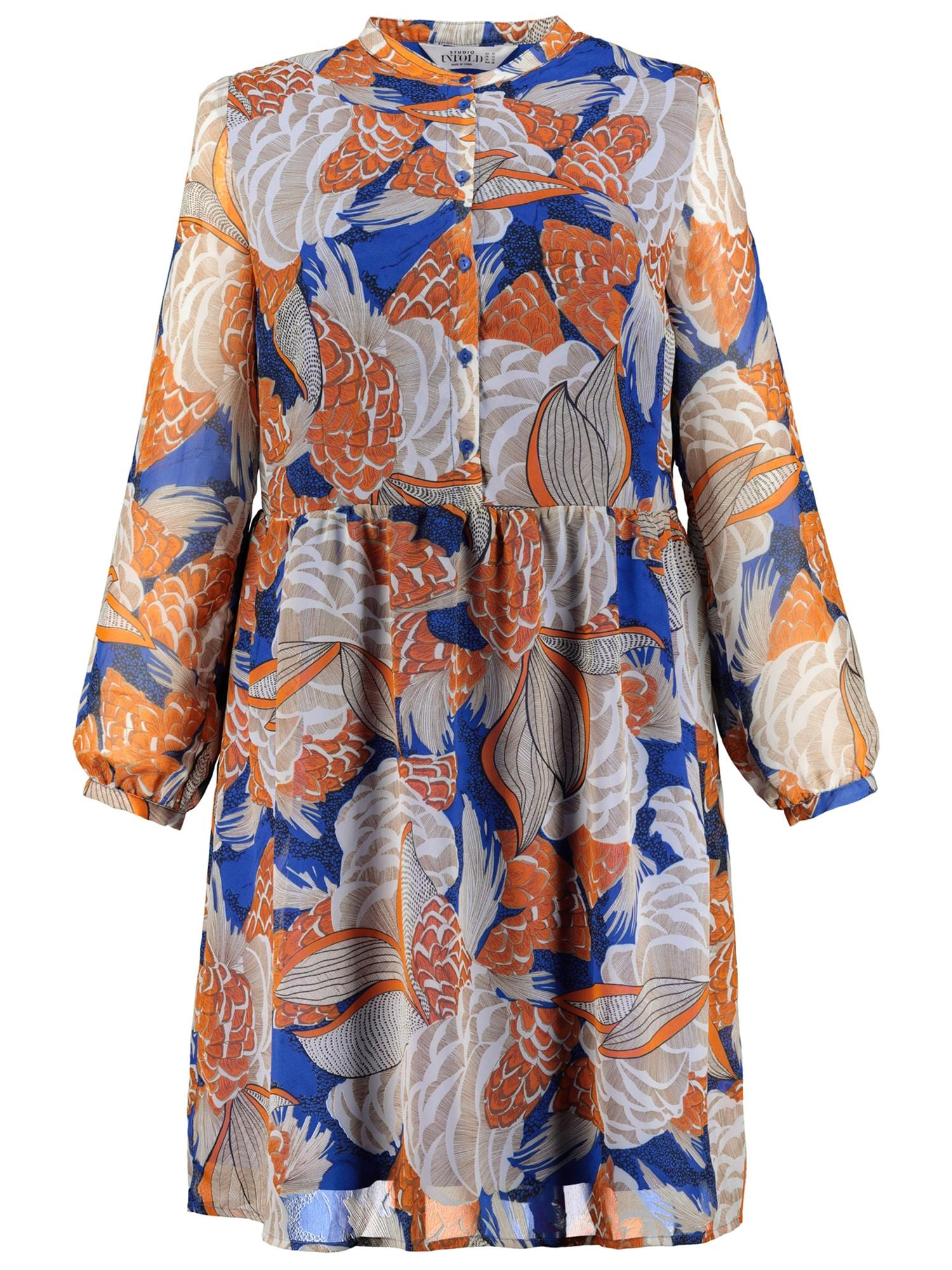 Košilové šaty mix barev Studio Untold