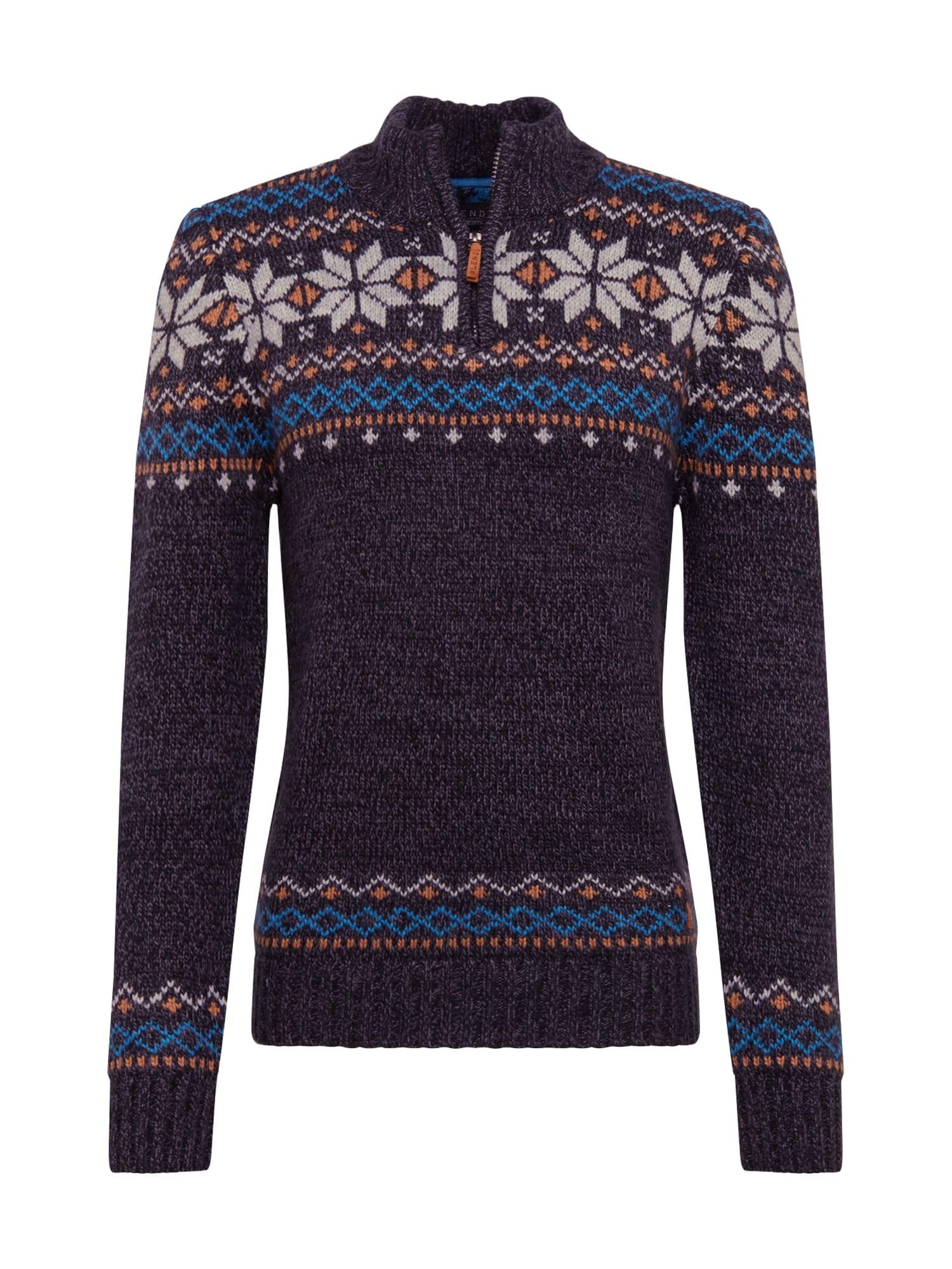 BLEND Megztinis juoda