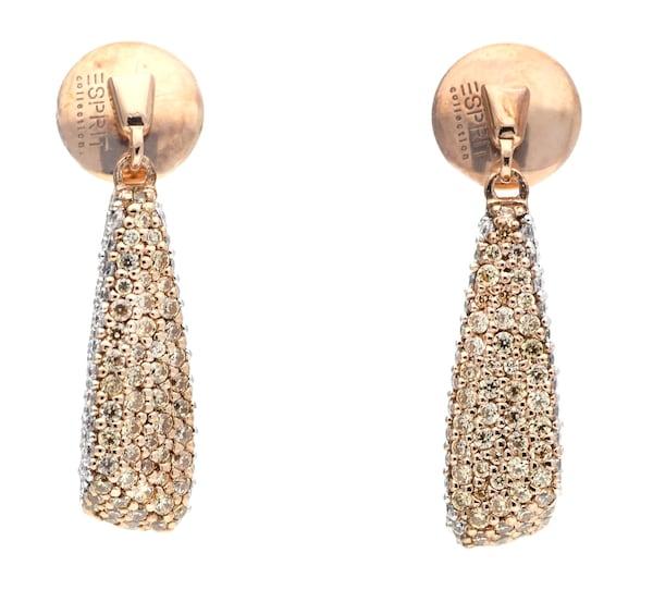 Ohrringe für Frauen - ESPRIT Ohrhänger rosegold  - Onlineshop ABOUT YOU