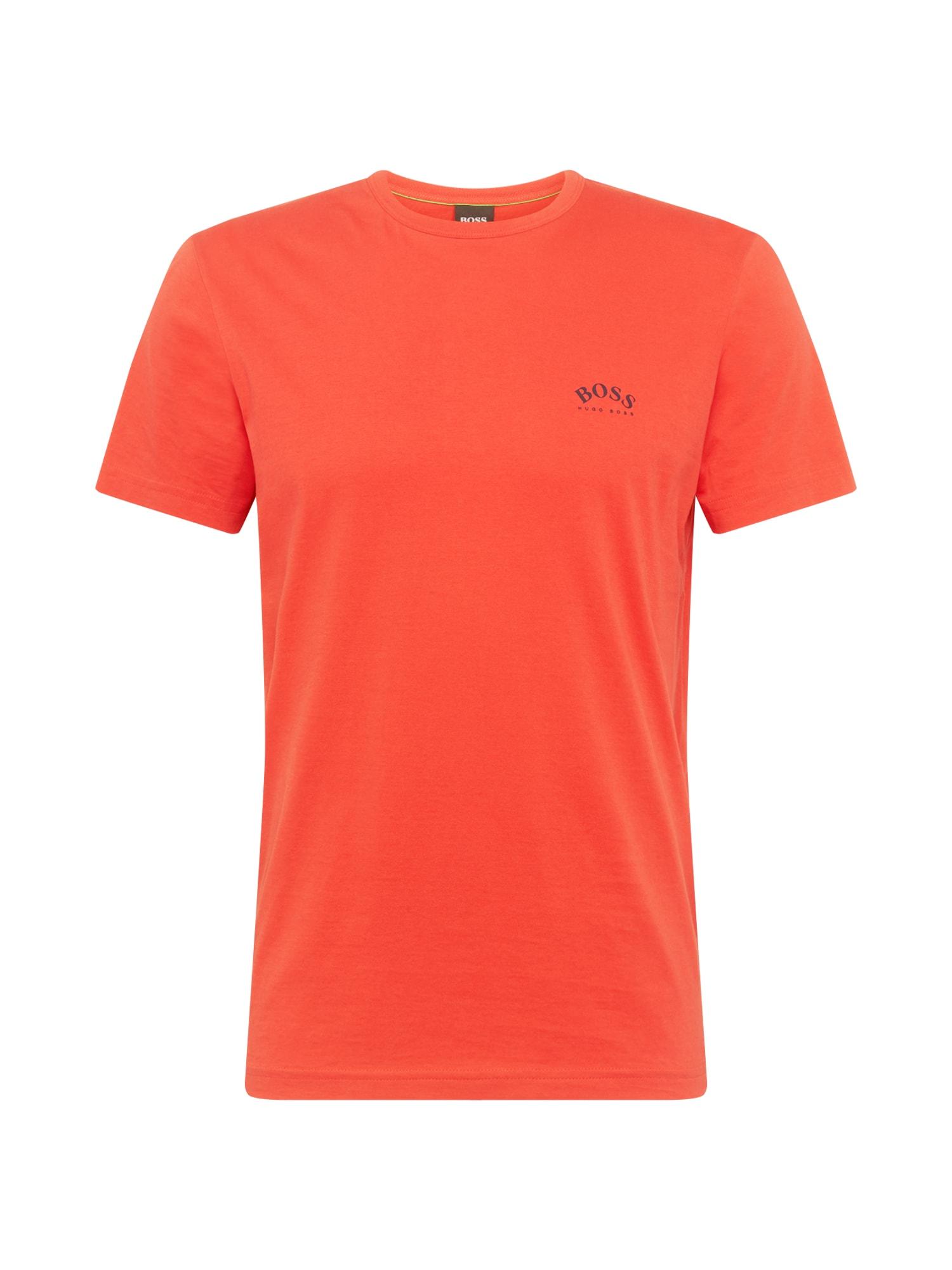 BOSS ATHLEISURE Marškinėliai raudona