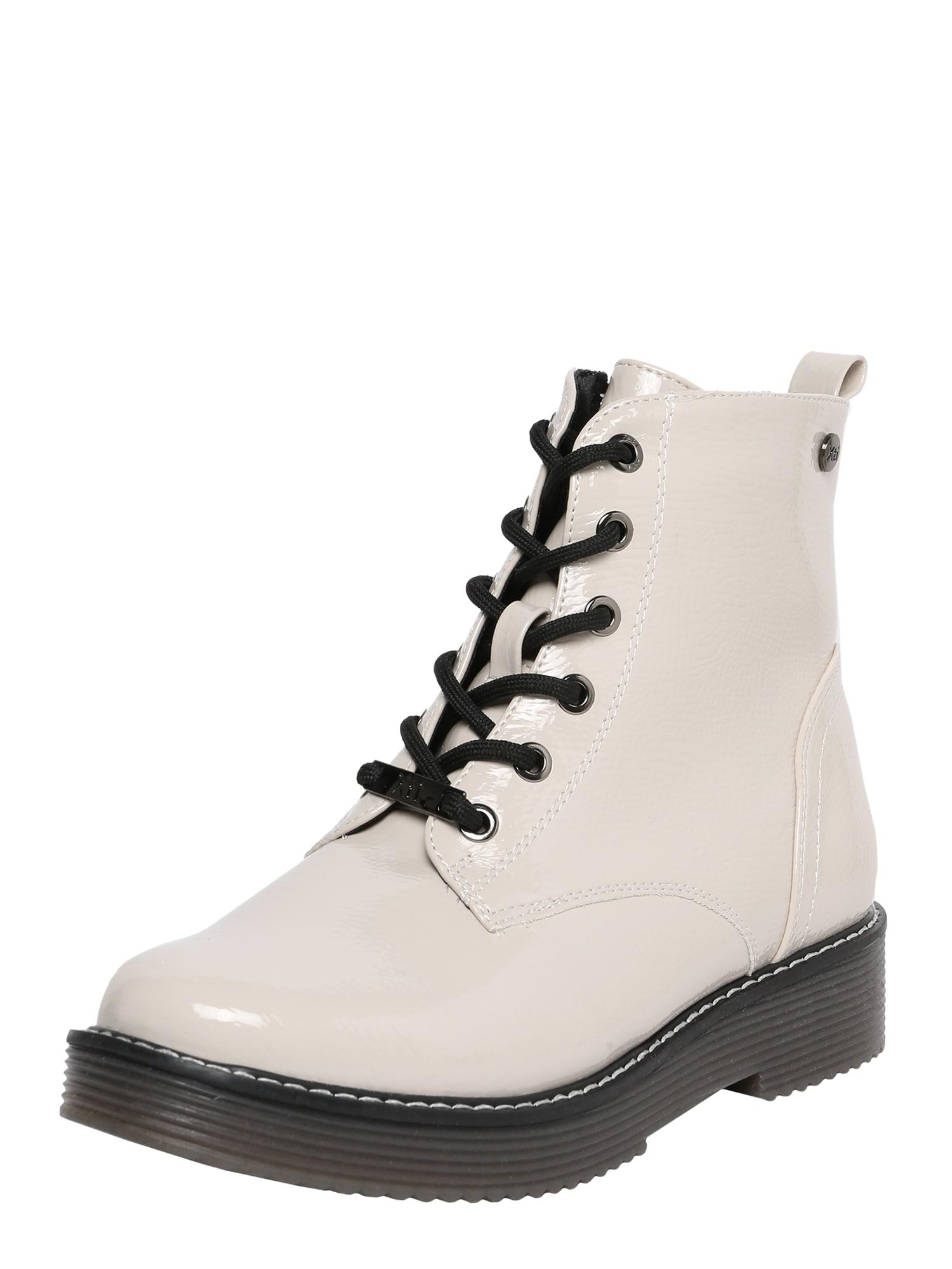 Xti Suvarstomieji kulkšnis dengiantys batai balta
