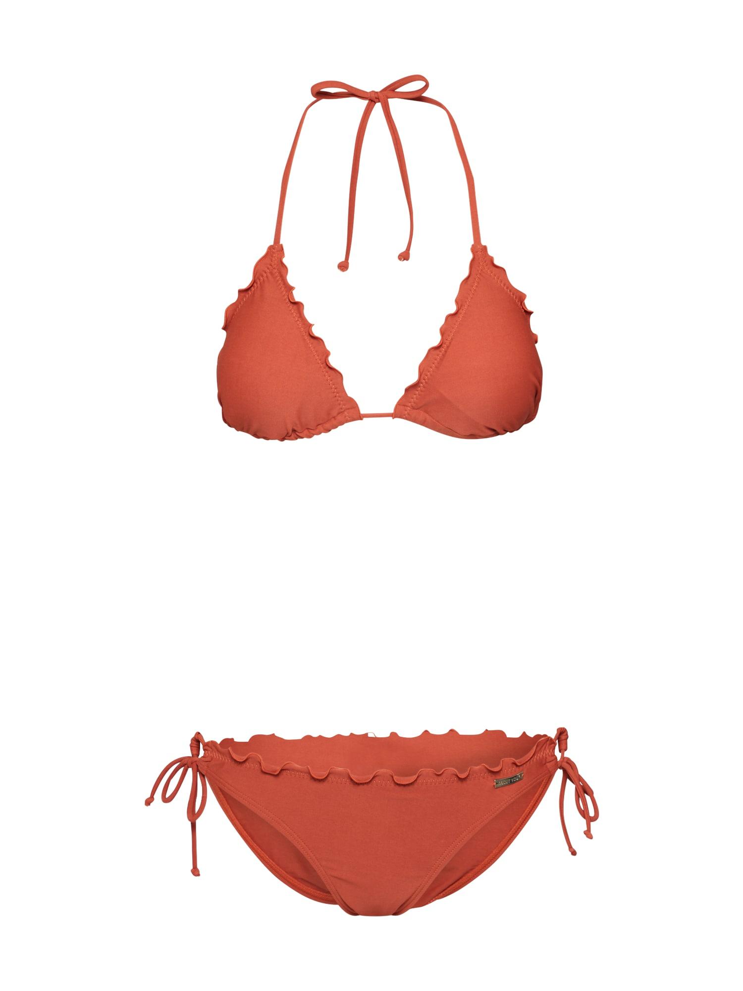 ABOUT YOU Bikinis 'Caja' rūdžių raudona