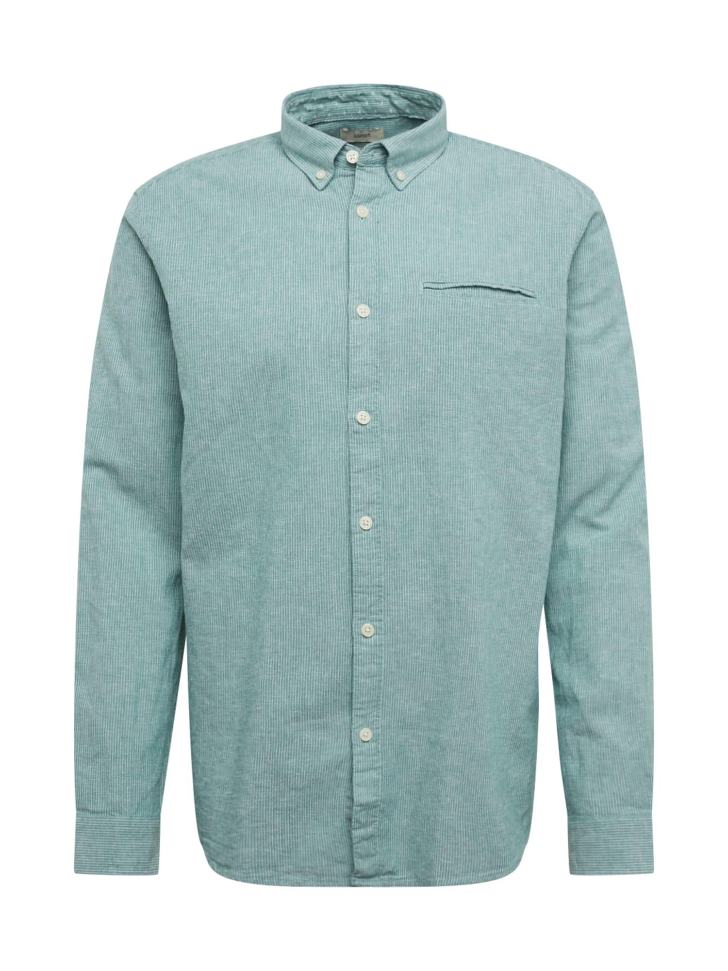 ESPRIT Marškiniai žalia