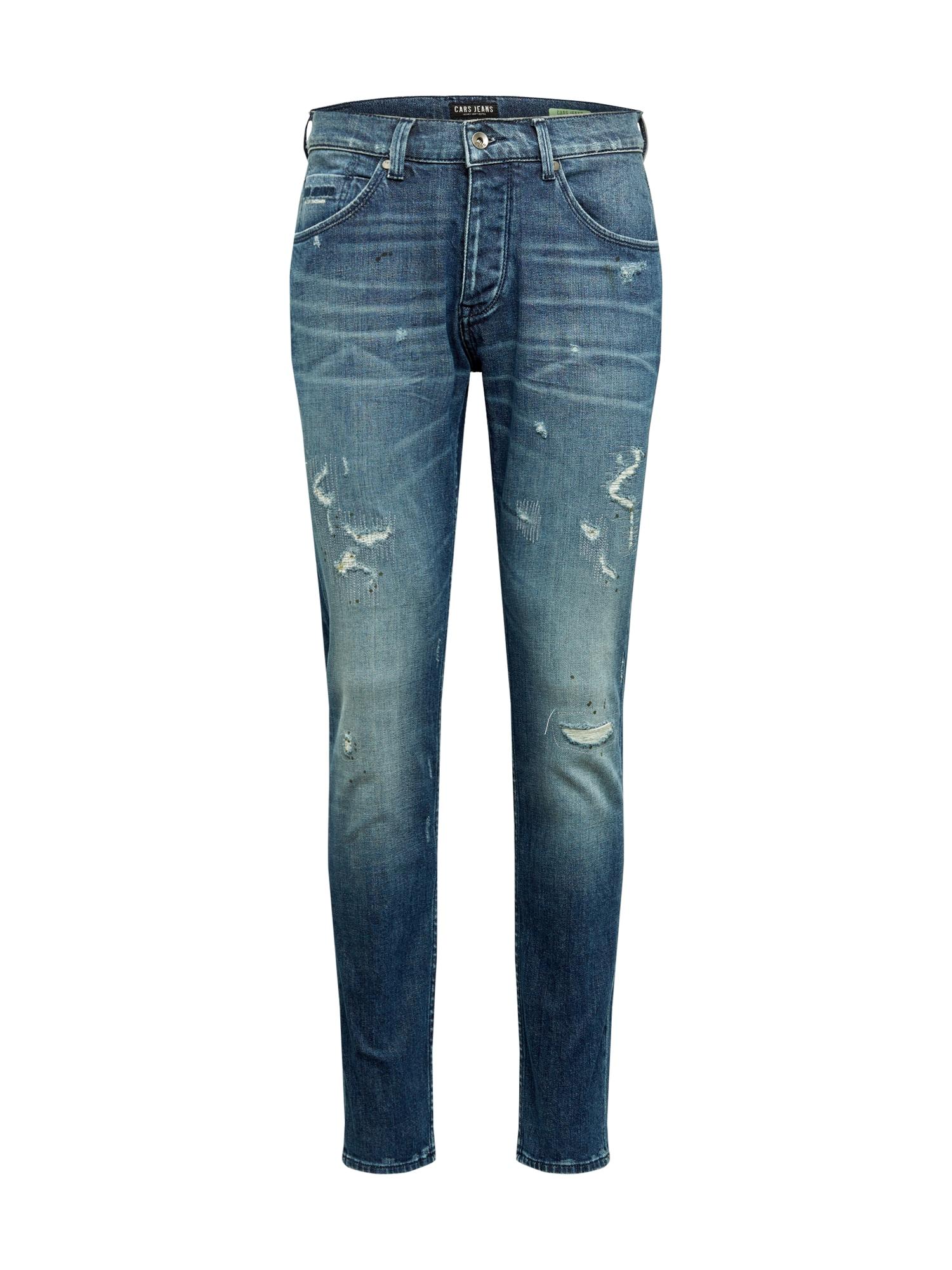 Cars Jeans Džinsai 'CASTLE' tamsiai (džinso) mėlyna