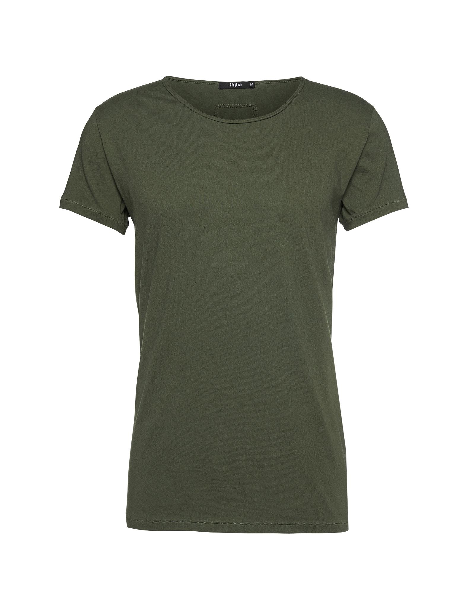 tigha Marškinėliai 'Wren' alyvuogių spalva