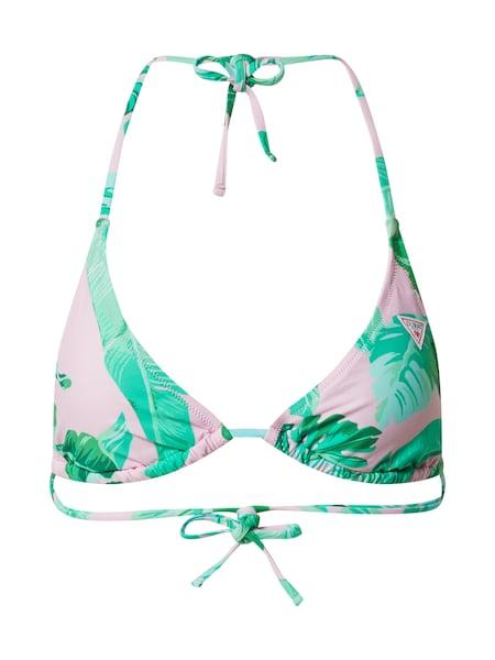 Bademode - Bikinitop › Guess › rosa grün  - Onlineshop ABOUT YOU