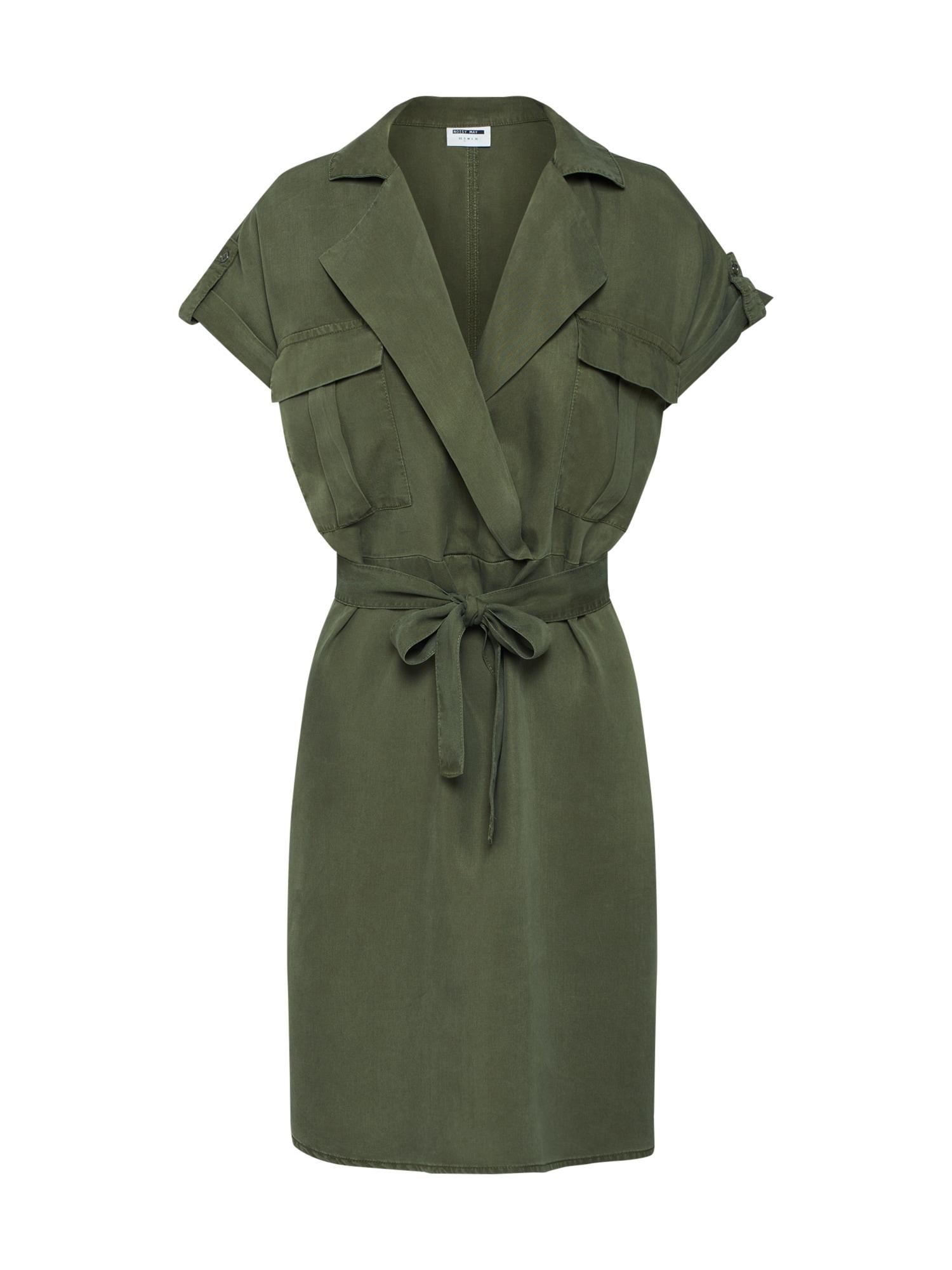 Noisy may Palaidinės tipo suknelė alyvuogių spalva