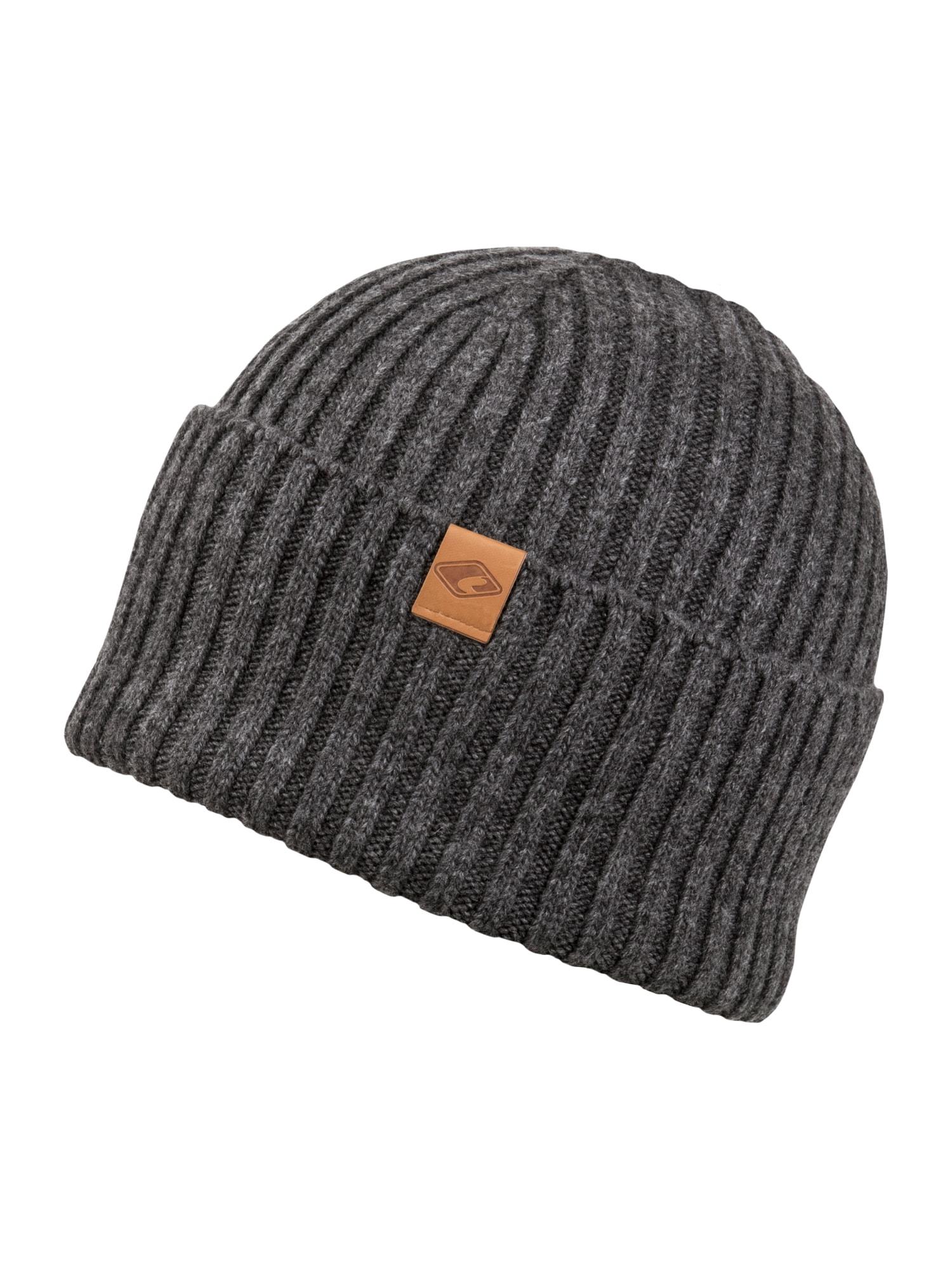 chillouts Megzta kepurė 'Justin' tamsiai pilka