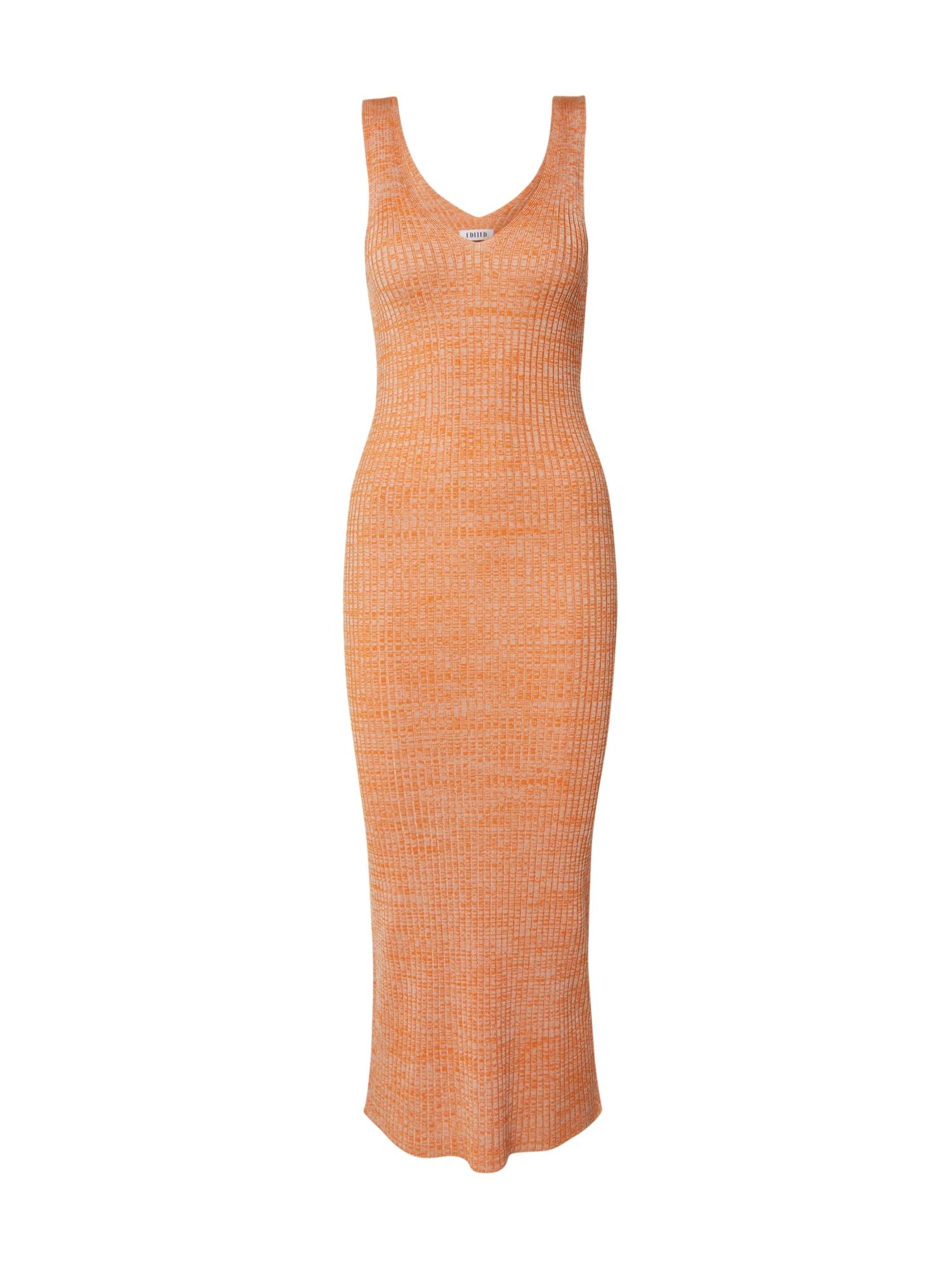 EDITED Megzta suknelė 'Elanor' oranžinė / smėlio
