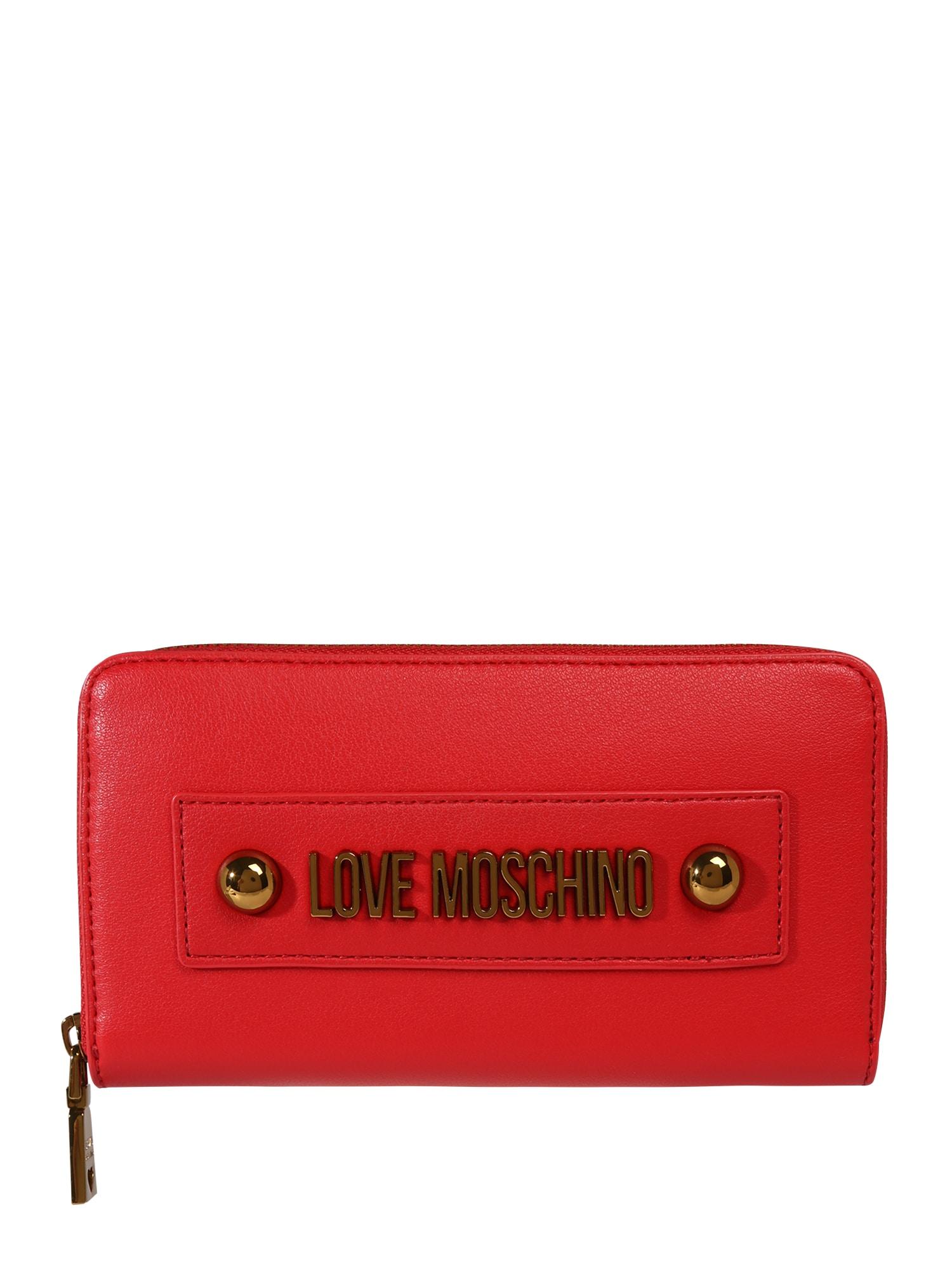 Love Moschino Piniginė 'SLG-LETTERING LOVE MOSCHINO' raudona