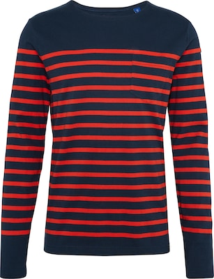 SCOTCH & SODA Shirt 'classic long sleeve breton with engineered stripe'