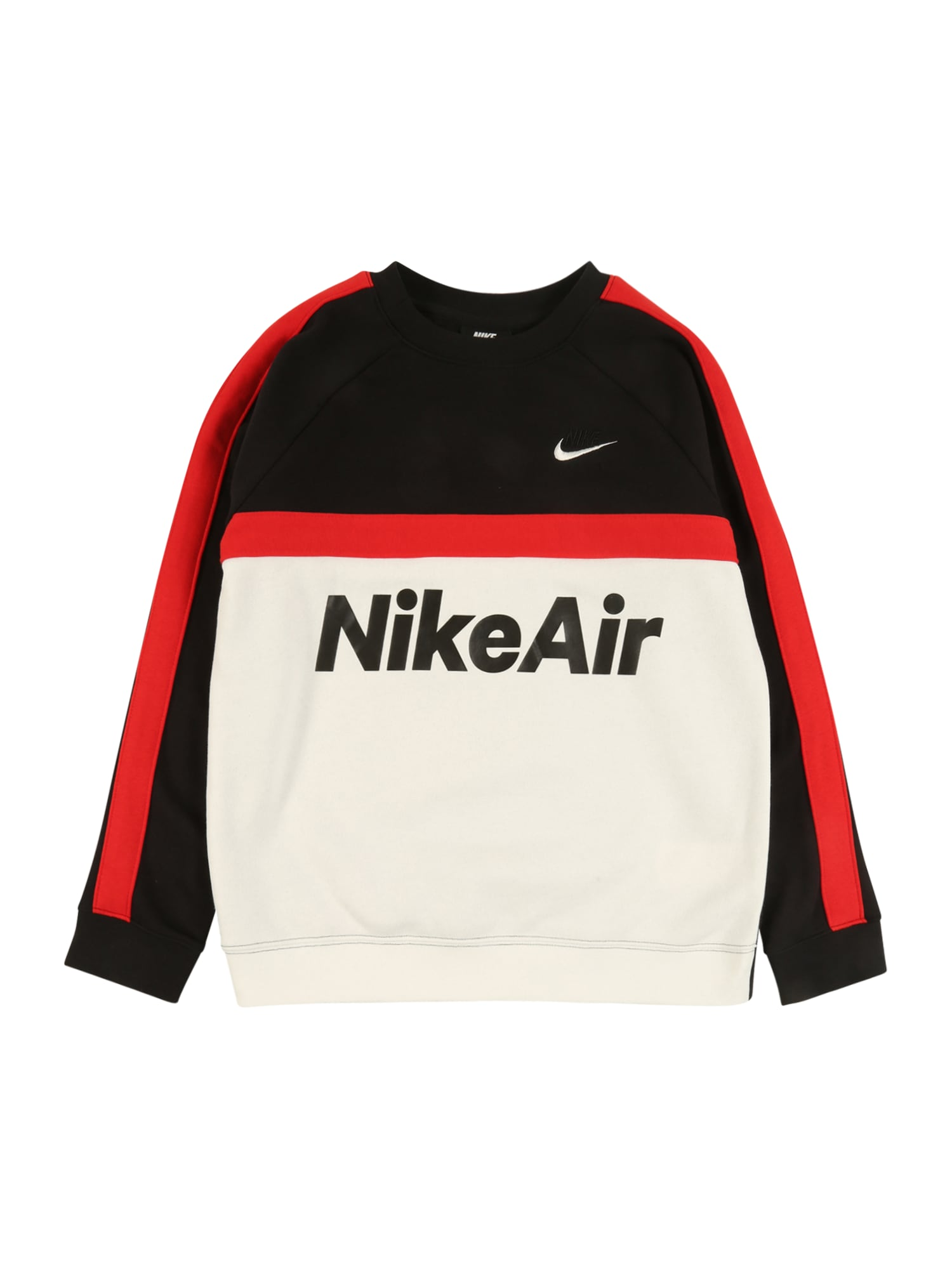 Nike Sportswear Tréning póló  fekete / fehér / piros