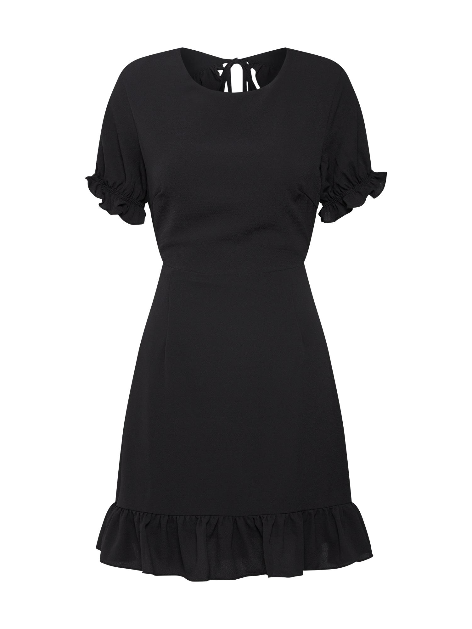 GLAMOROUS Šaty 'EA0166'  černá