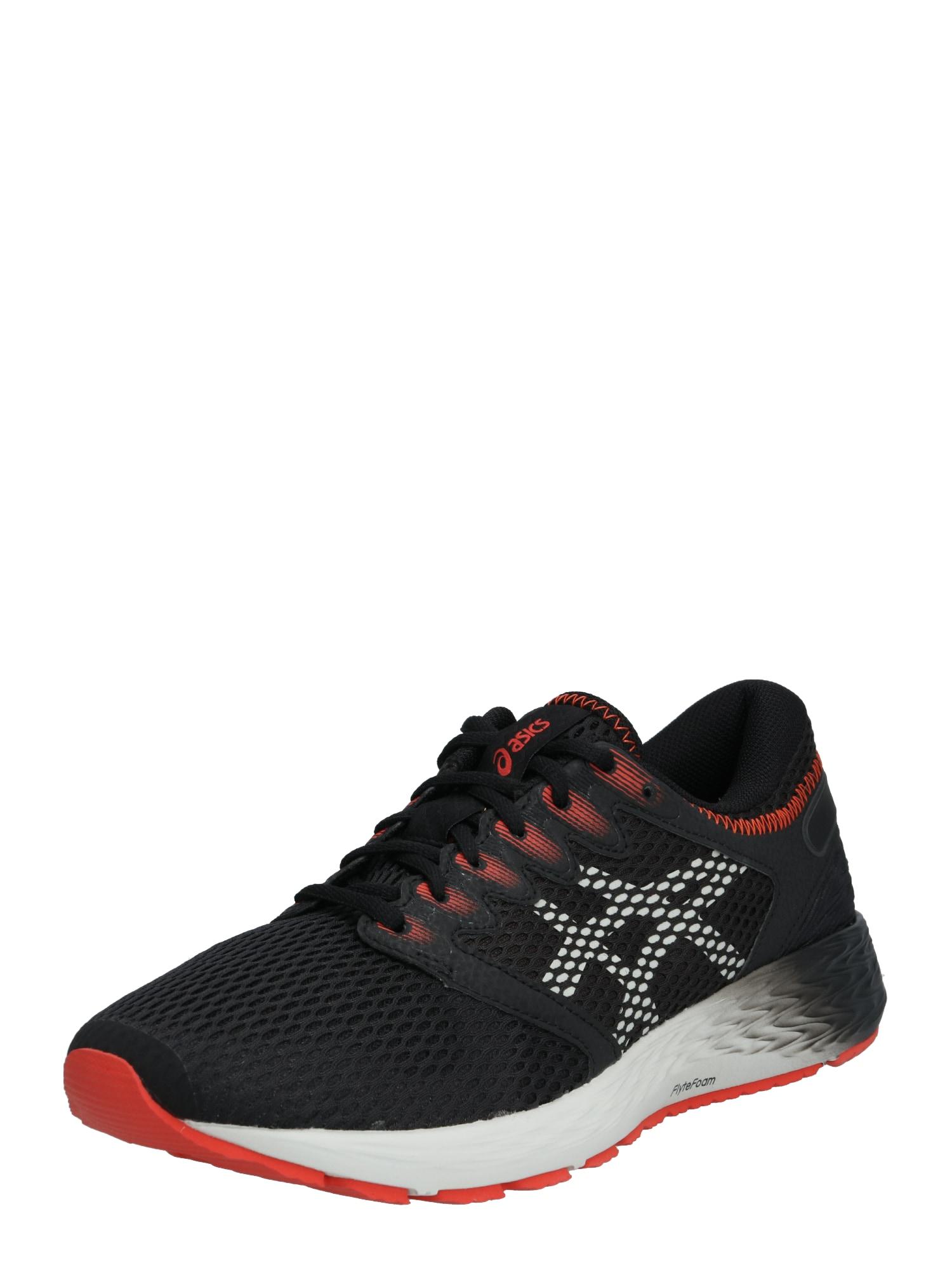 ASICS Bėgimo batai 'RoadHawk FF 2' pilka / juoda