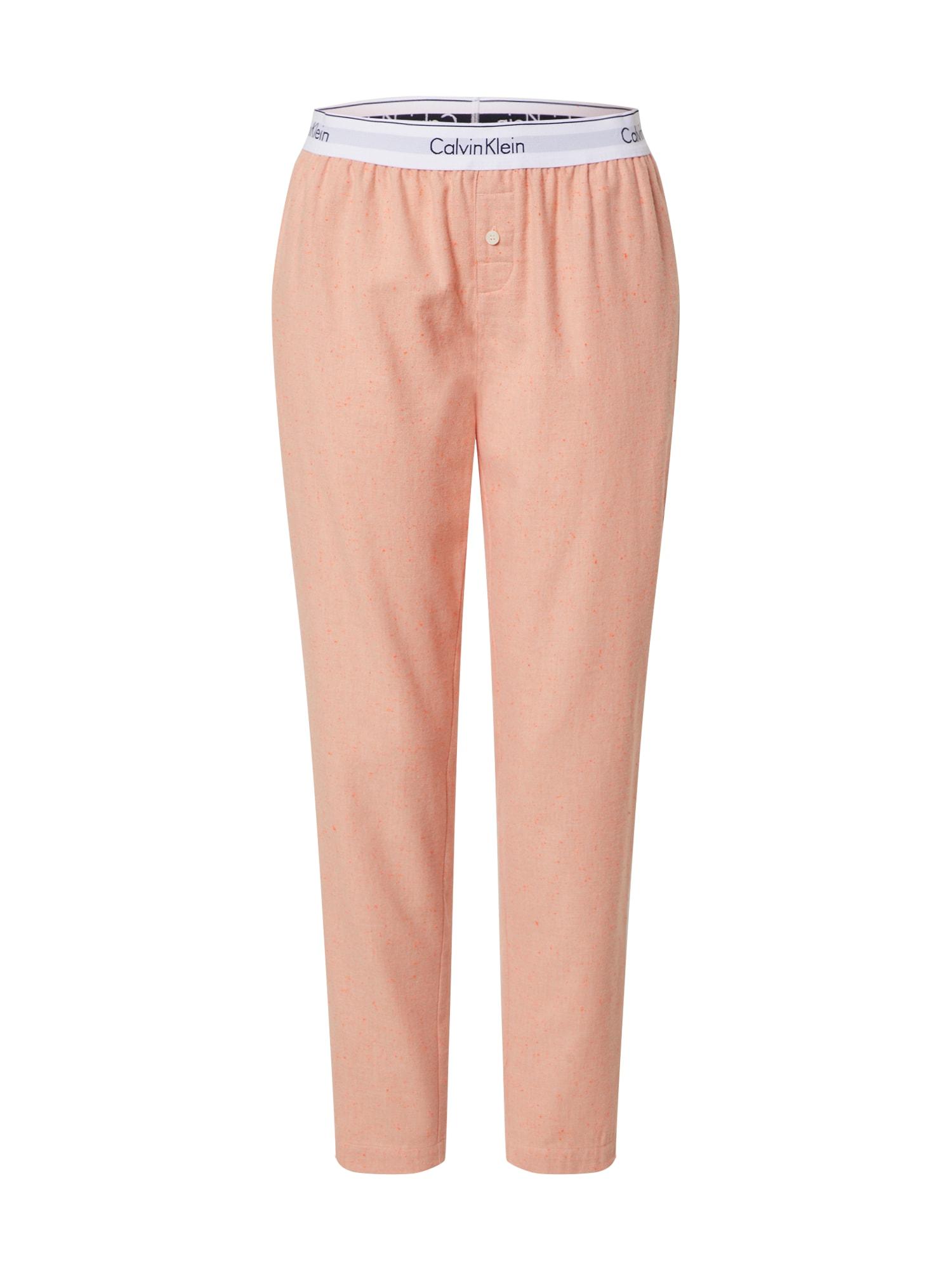 Calvin Klein Underwear Pižaminės kelnės 'SLEEP PANT' oranžinė