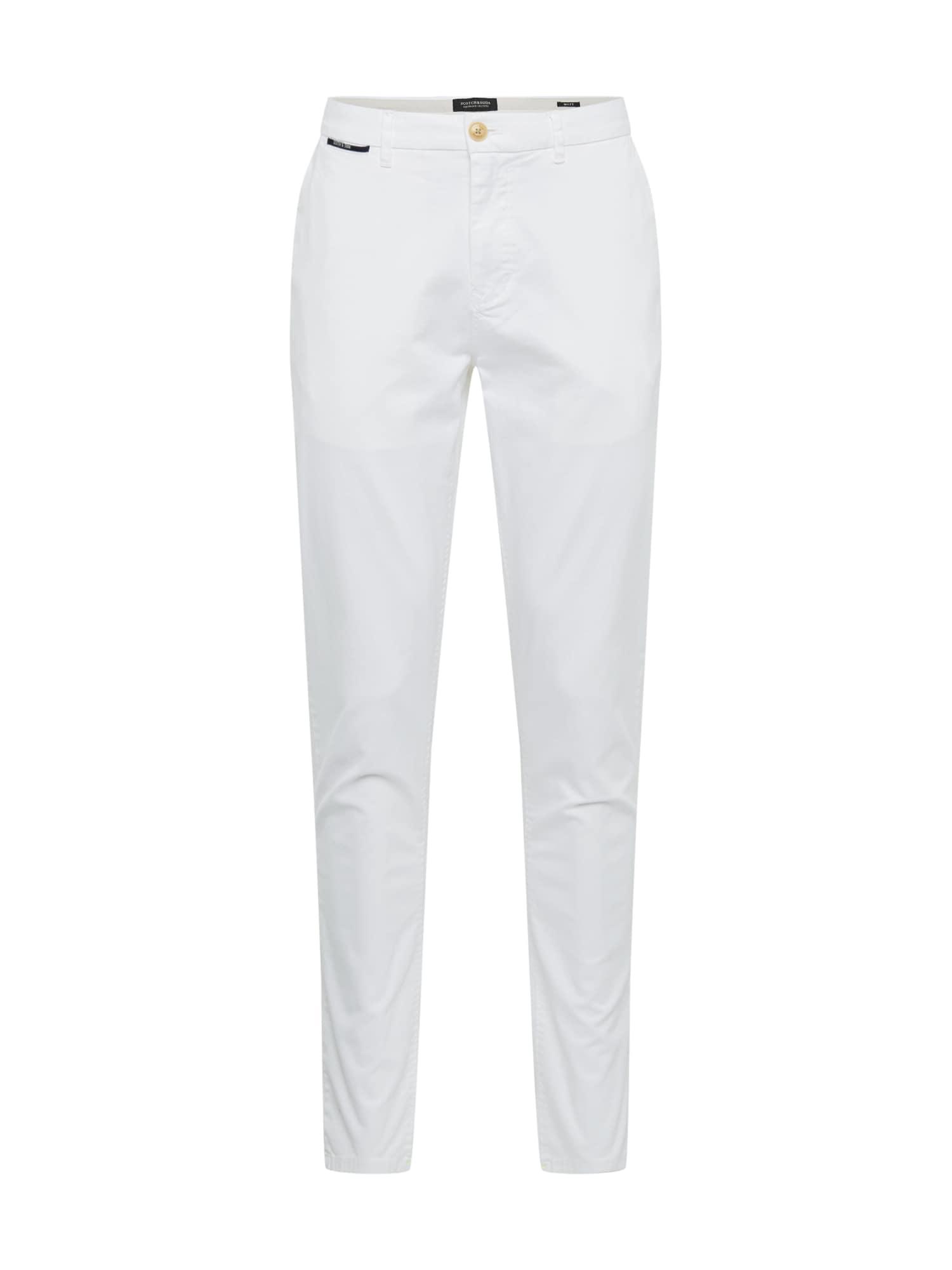 SCOTCH & SODA Chino kalhoty 'Mott'  bílá