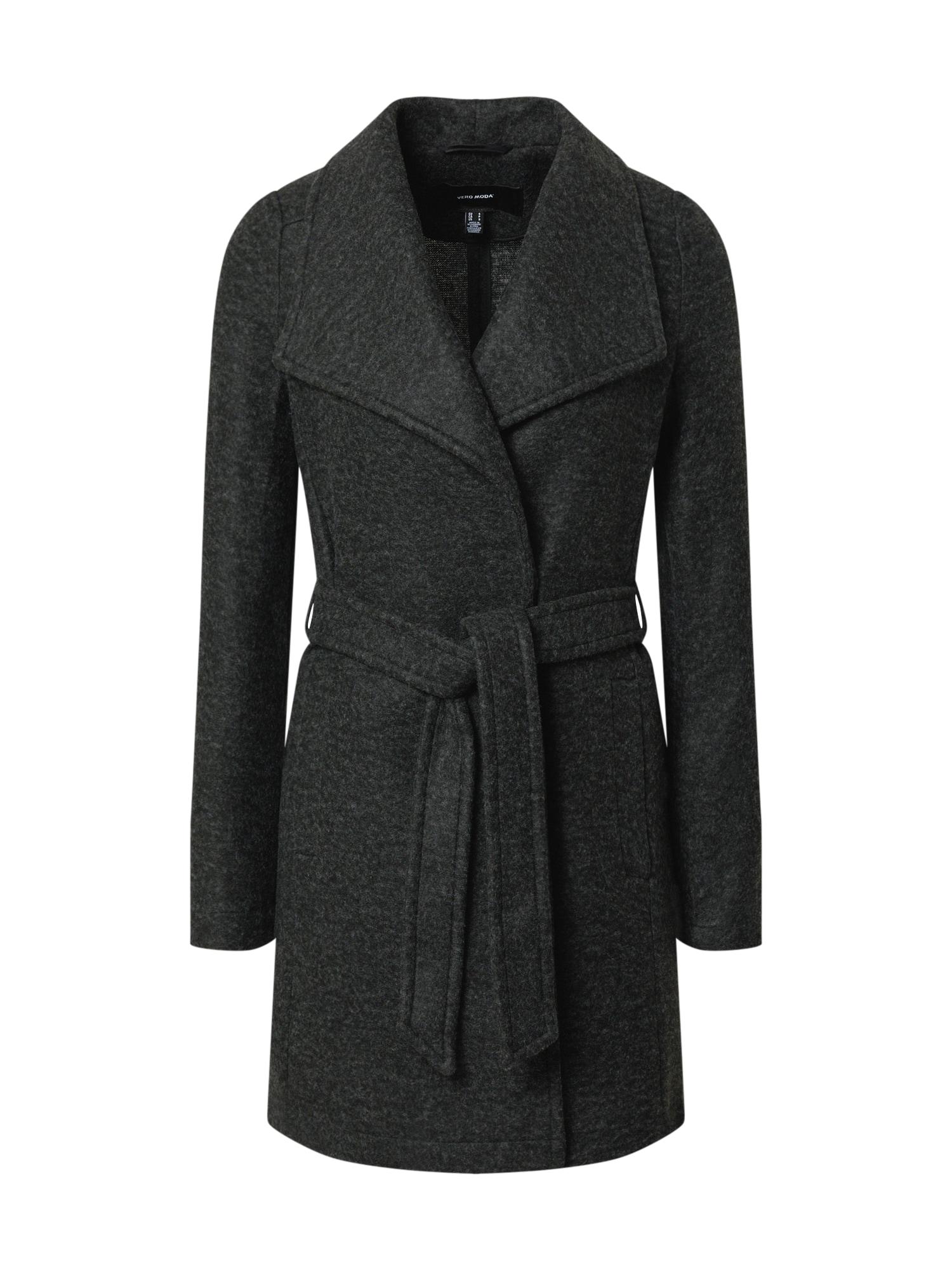VERO MODA Přechodný kabát 'DORA'  tmavě šedá
