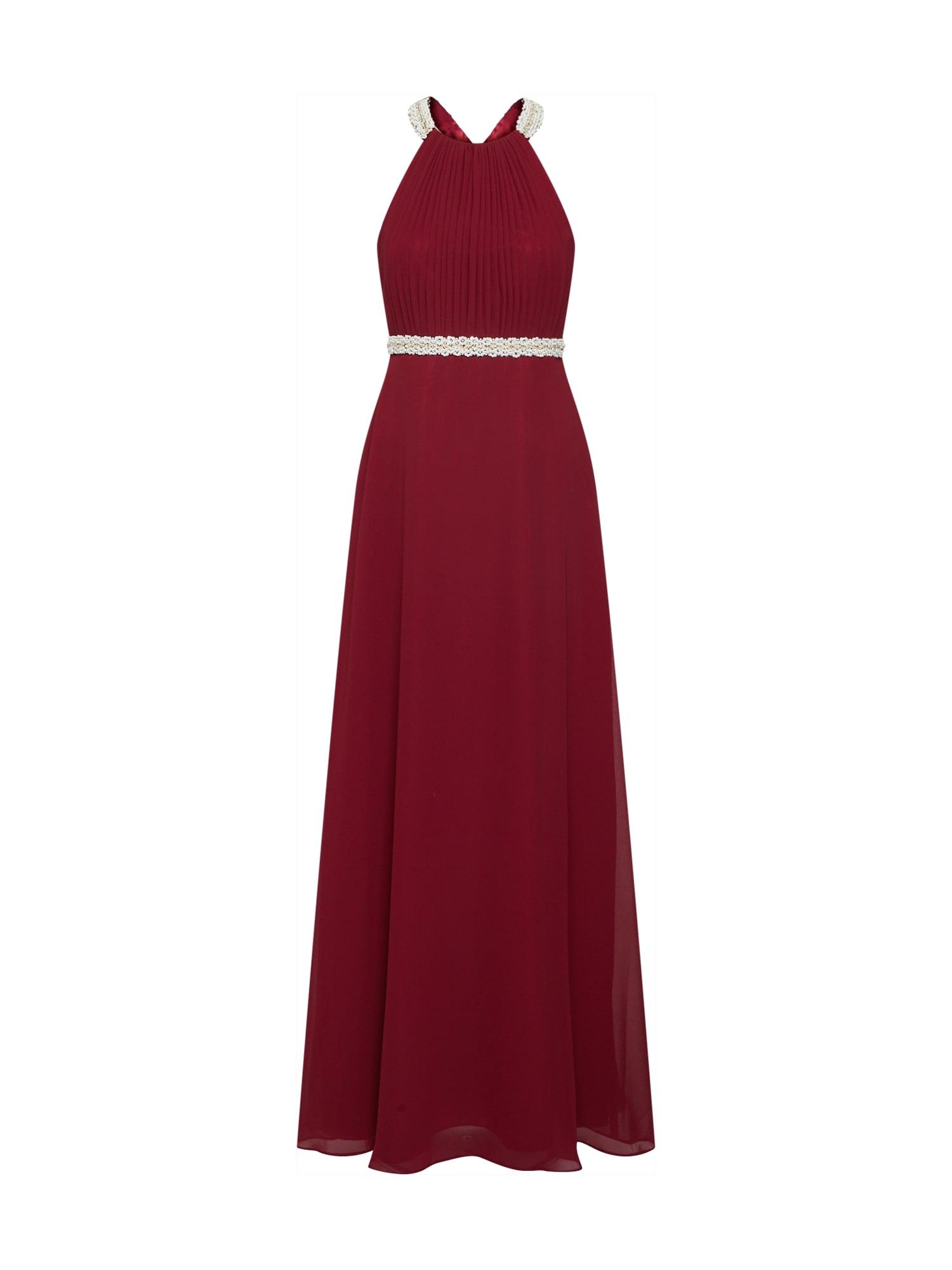 Vera Mont Vakarinė suknelė burgundiško vyno spalva