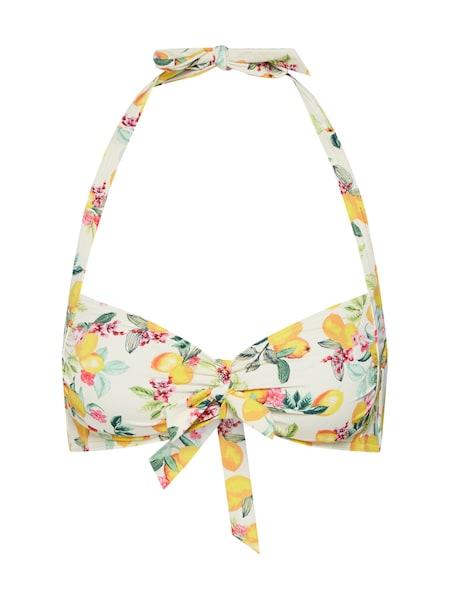 Bademode für Frauen - Bikinitop 'PANAMA BEACH pad halterneck' › Esprit › gelb  - Onlineshop ABOUT YOU