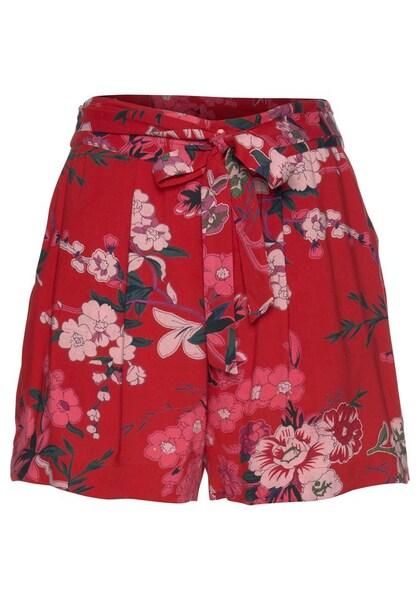 Hosen für Frauen - ANISTON Shorts rot  - Onlineshop ABOUT YOU