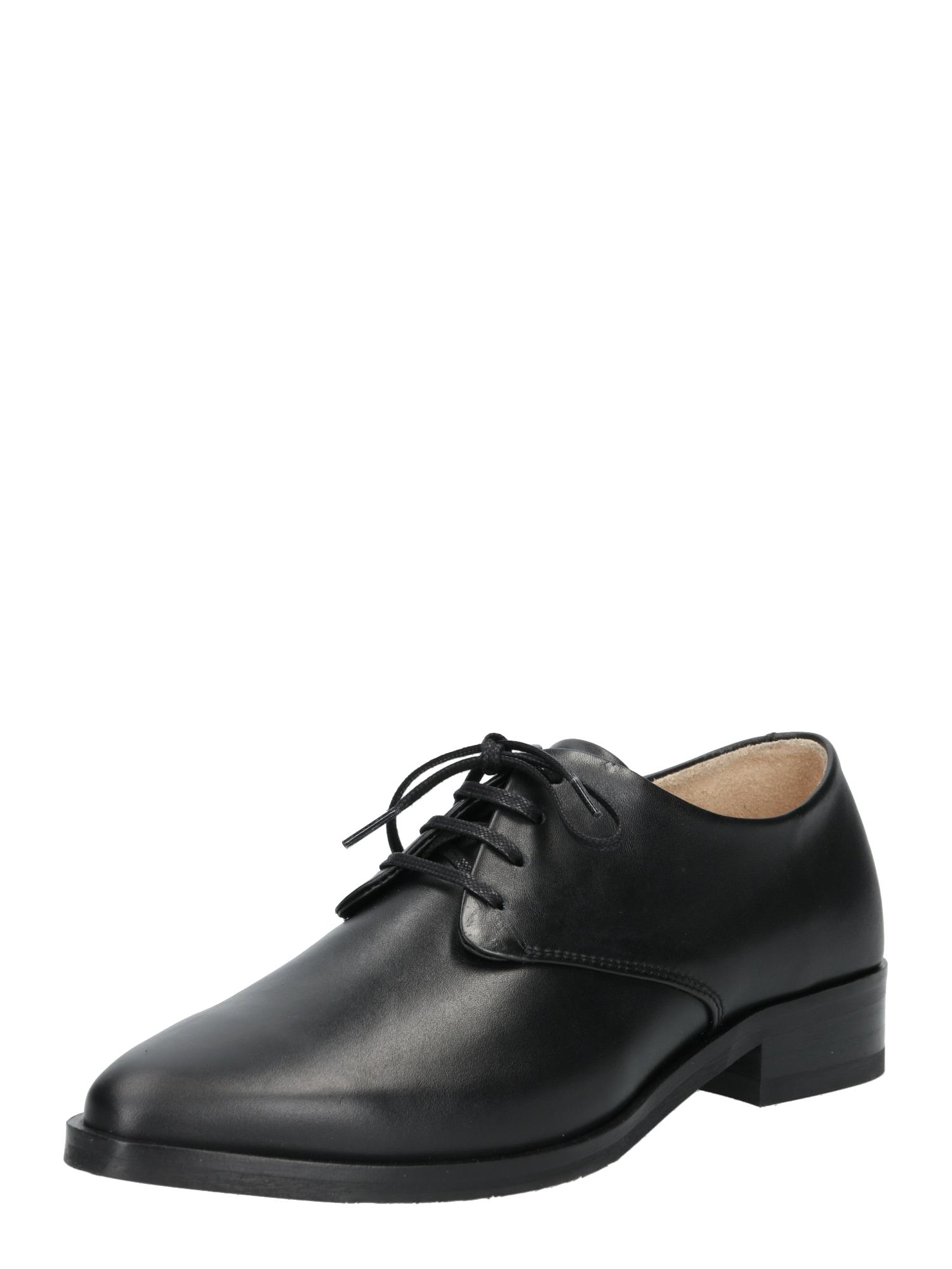 Šněrovací boty Prime Derby černá ROYAL REPUBLIQ