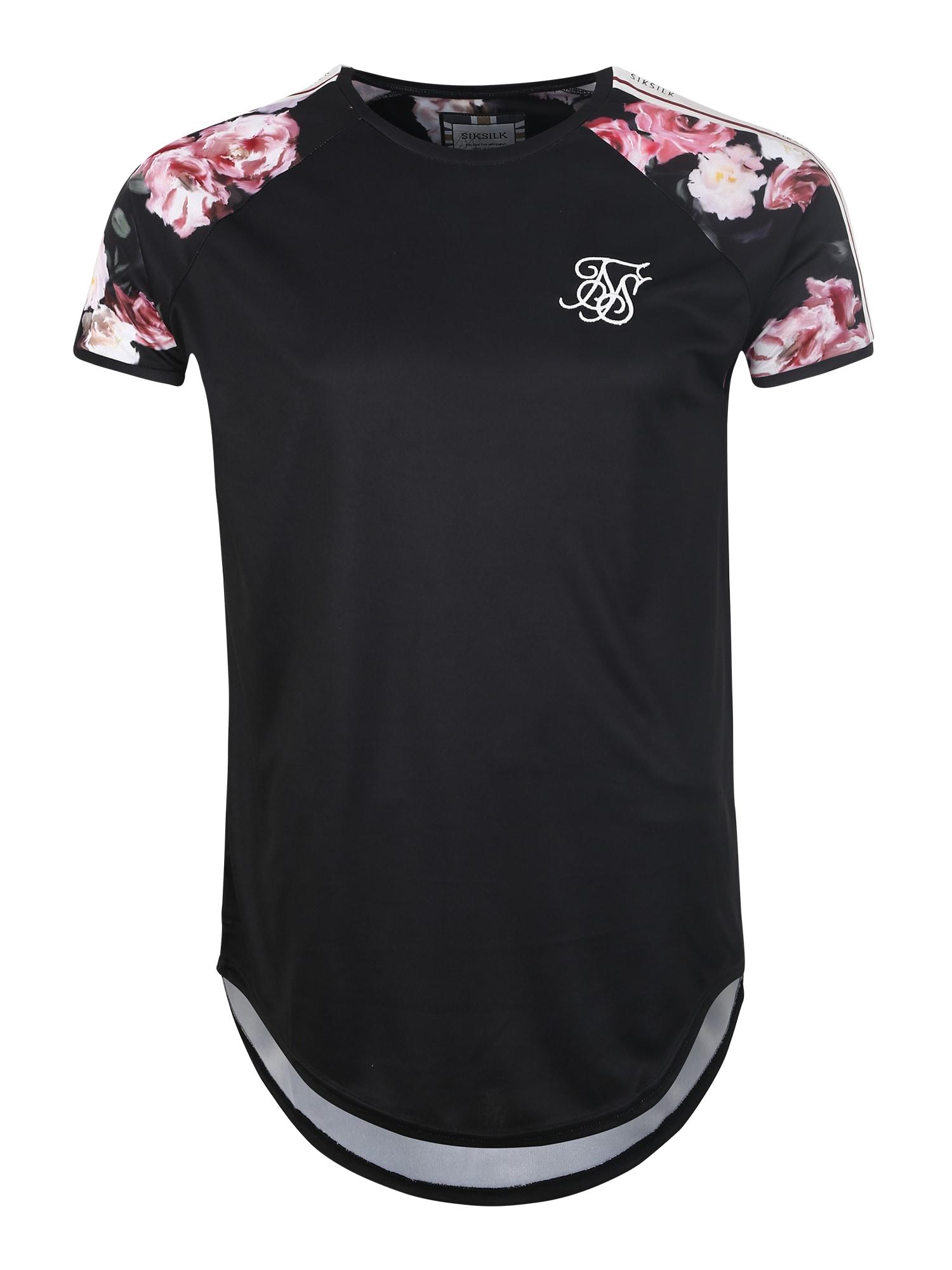 Tričko schwarz SikSilk