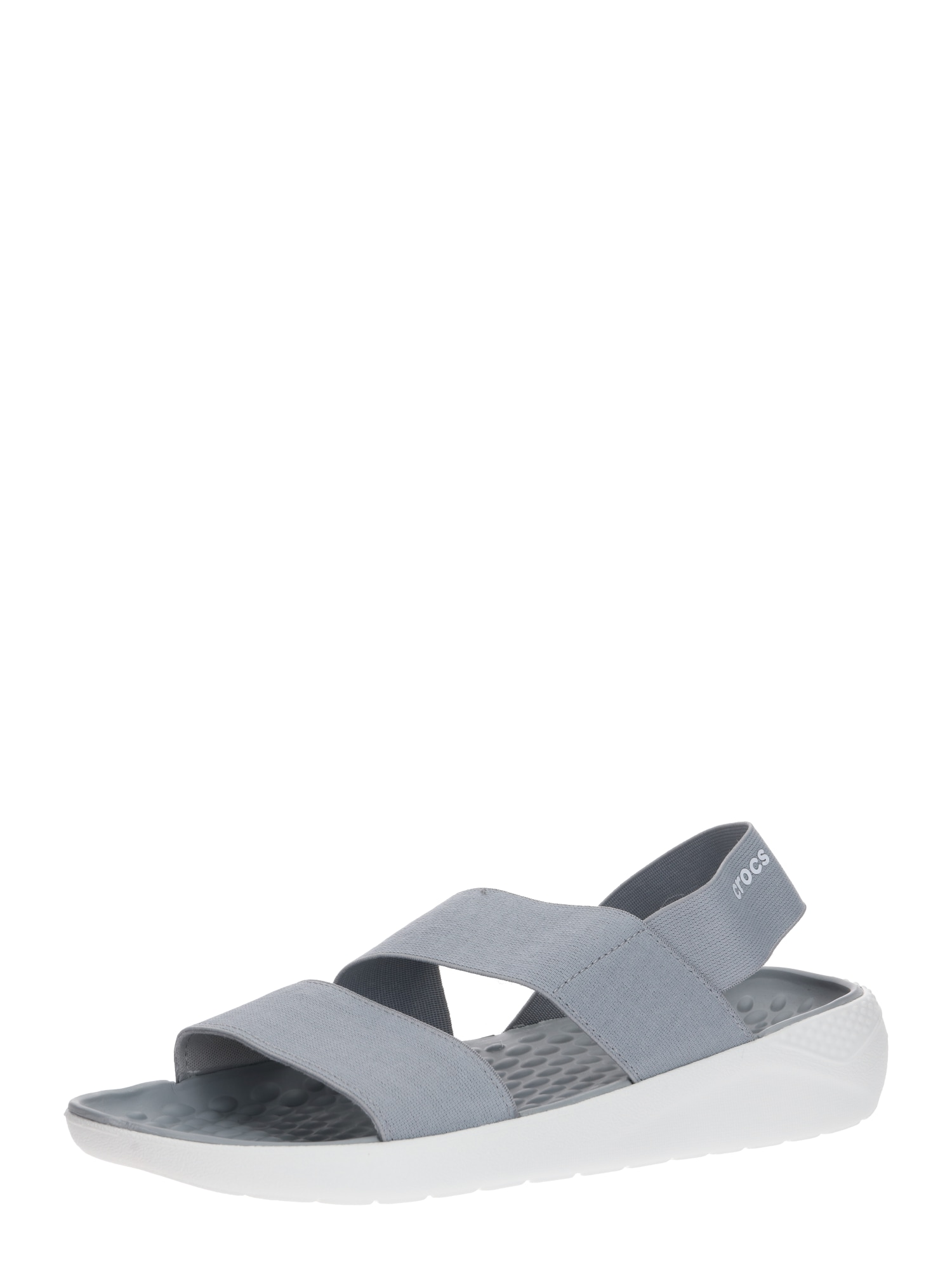 Crocs Sandalai 'LiteRide' šviesiai pilka