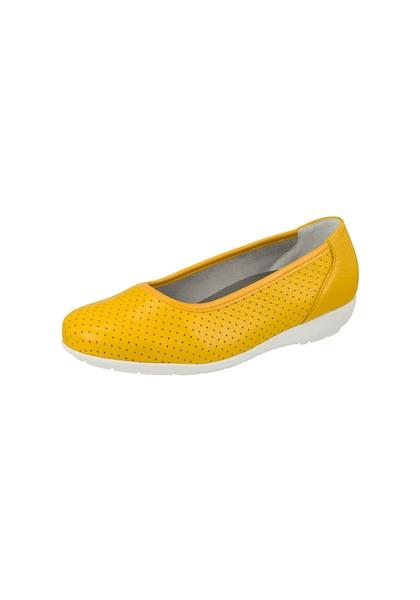 Ballerinas - Ballerina 'Annabelle' › Natural Feet › limone  - Onlineshop ABOUT YOU