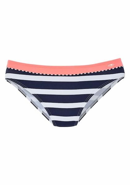 Bademode für Frauen - KangaROOS Bikinihose navy neonpink weiß  - Onlineshop ABOUT YOU