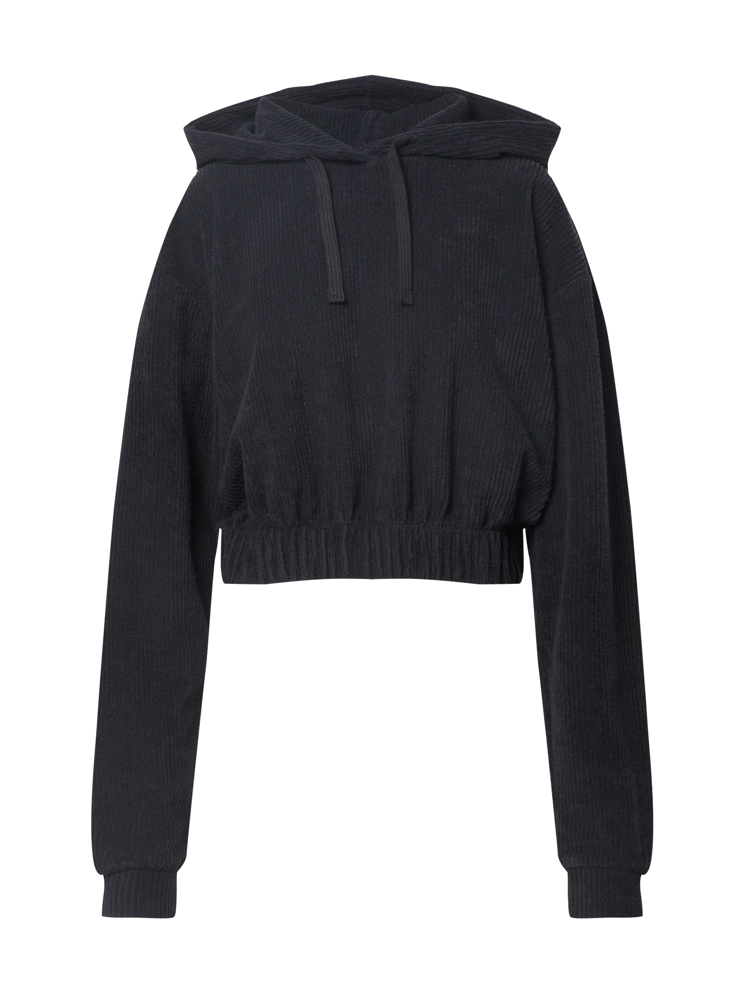 NU-IN Megztinis be užsegimo juoda