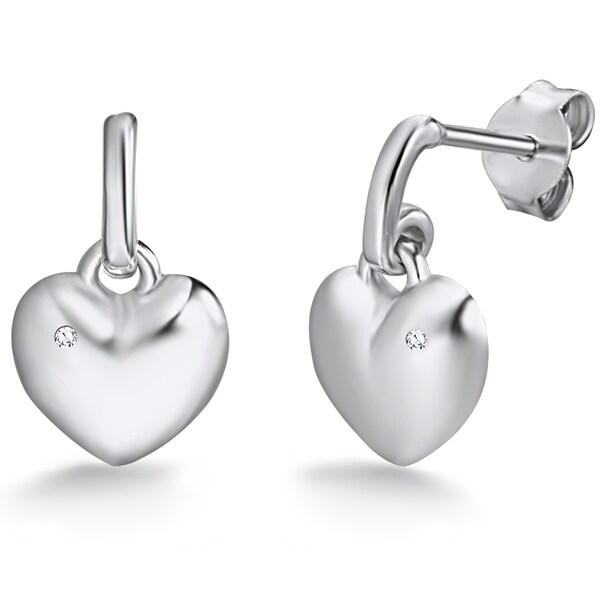 Ohrringe für Frauen - Rafaela Donata Ohrstecker Herz silber  - Onlineshop ABOUT YOU