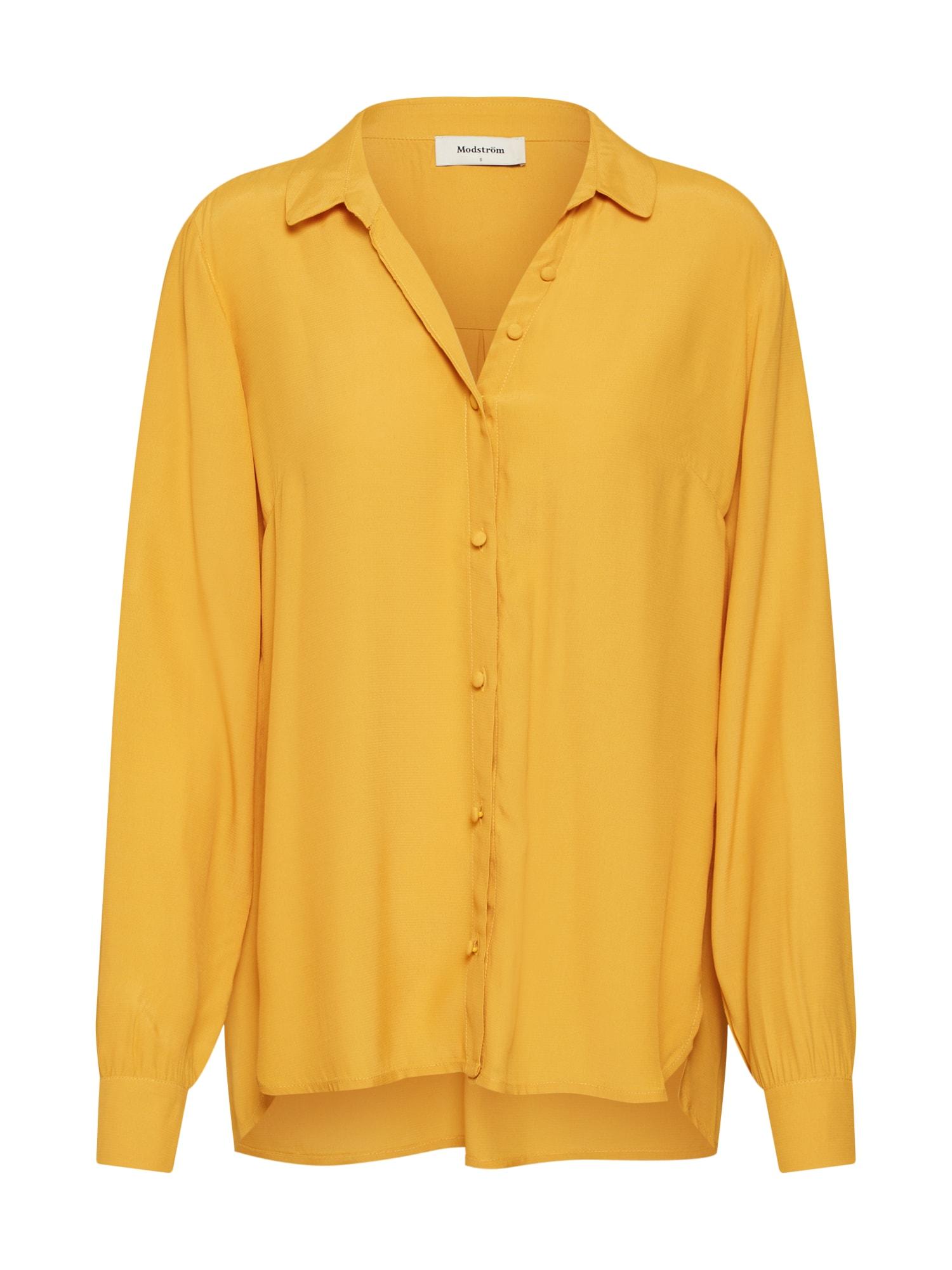 Halenka Ryder shirt žlutá Modström