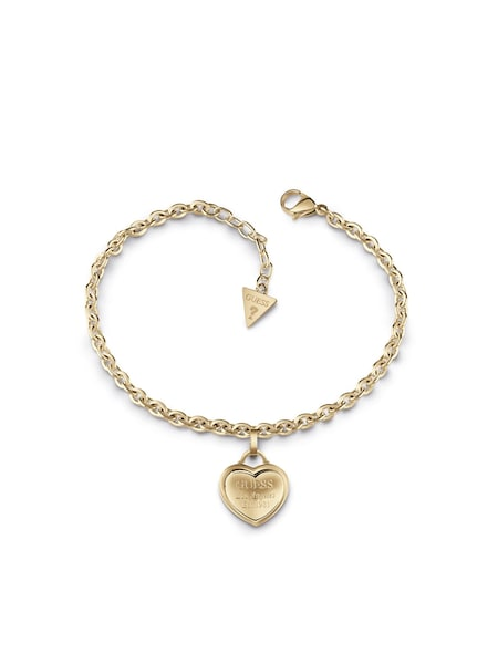 Armbaender für Frauen - GUESS Armband 'Follow my Charm' gold  - Onlineshop ABOUT YOU