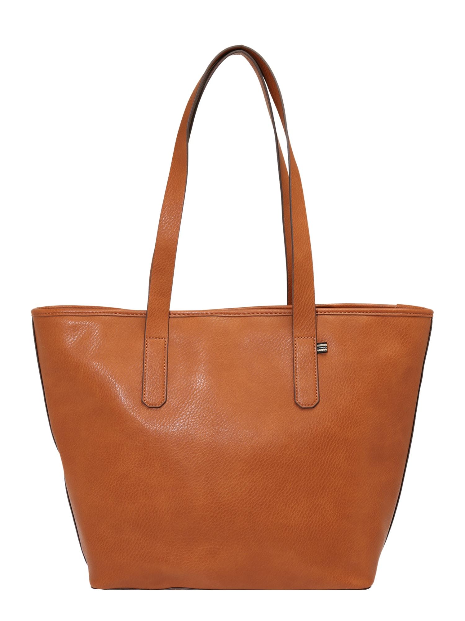 ESPRIT Pirkinių krepšys ruda (konjako)