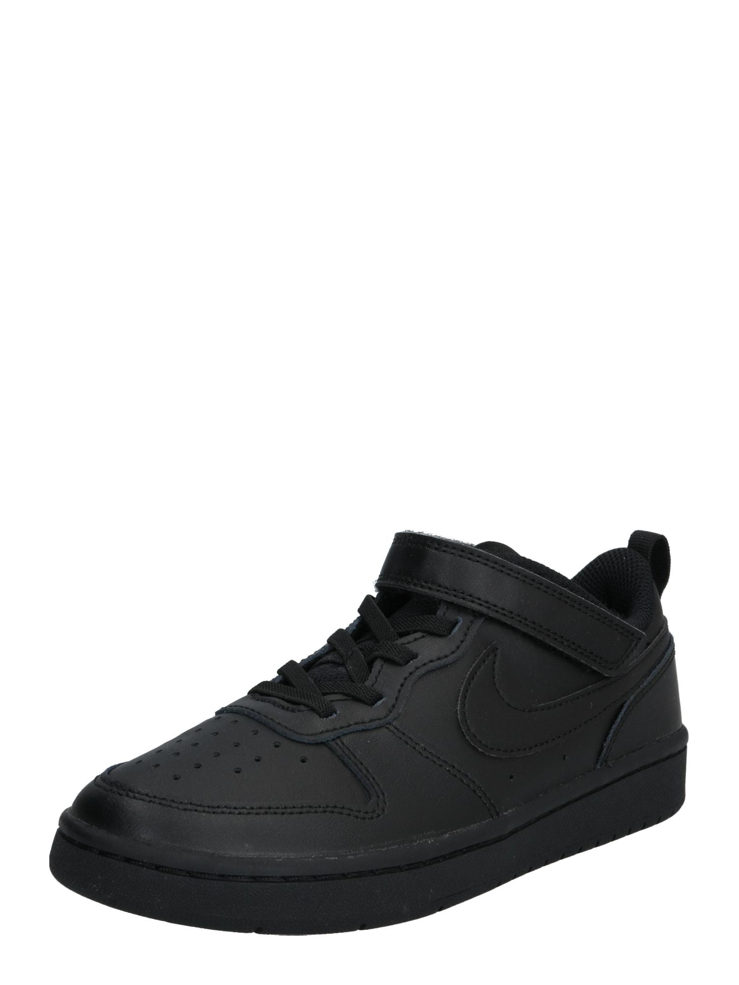 Nike Sportswear Sportbačiai 'Court Borough Low 2' juoda