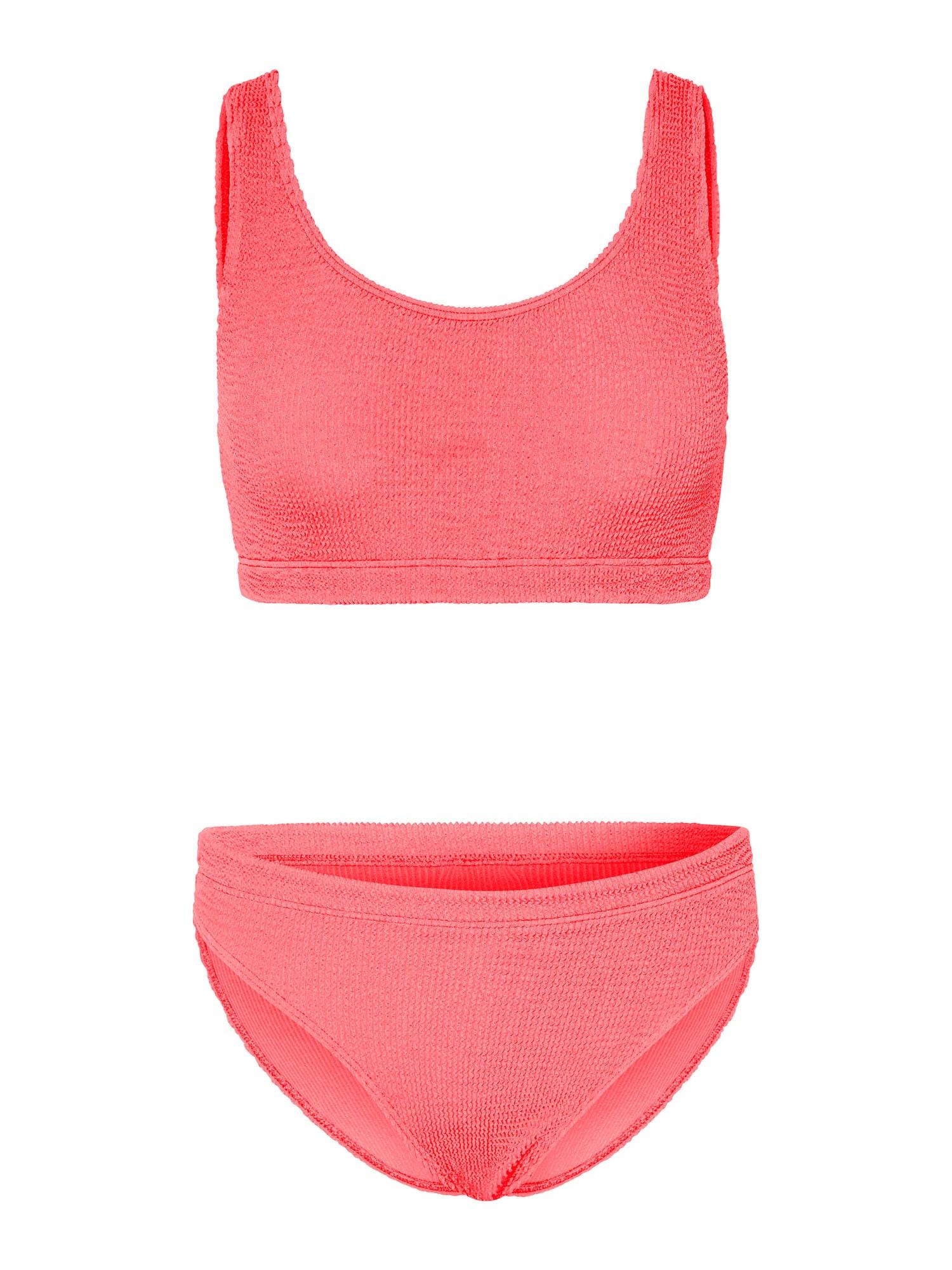 CHIEMSEE Sportinis bikinis neoninė rožinė